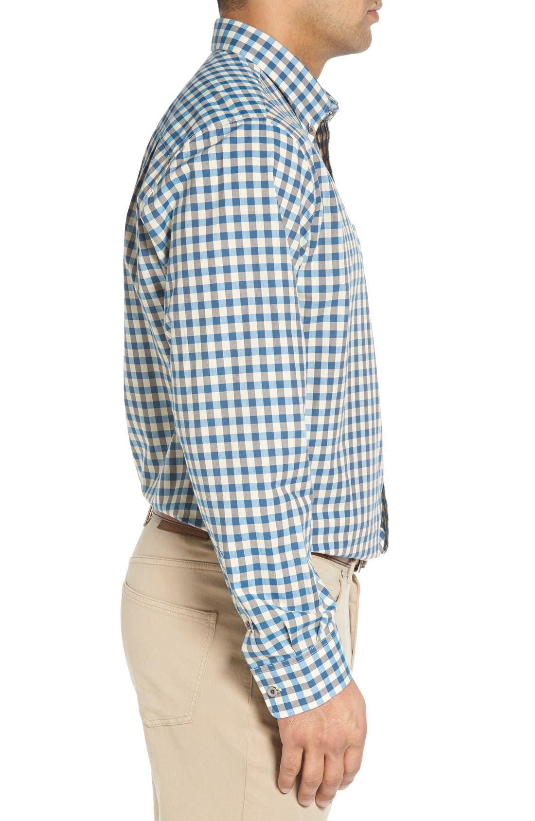 'Wildwood' Regular Fit Check Sport Shirt,                             Alternate thumbnail 10, color,
