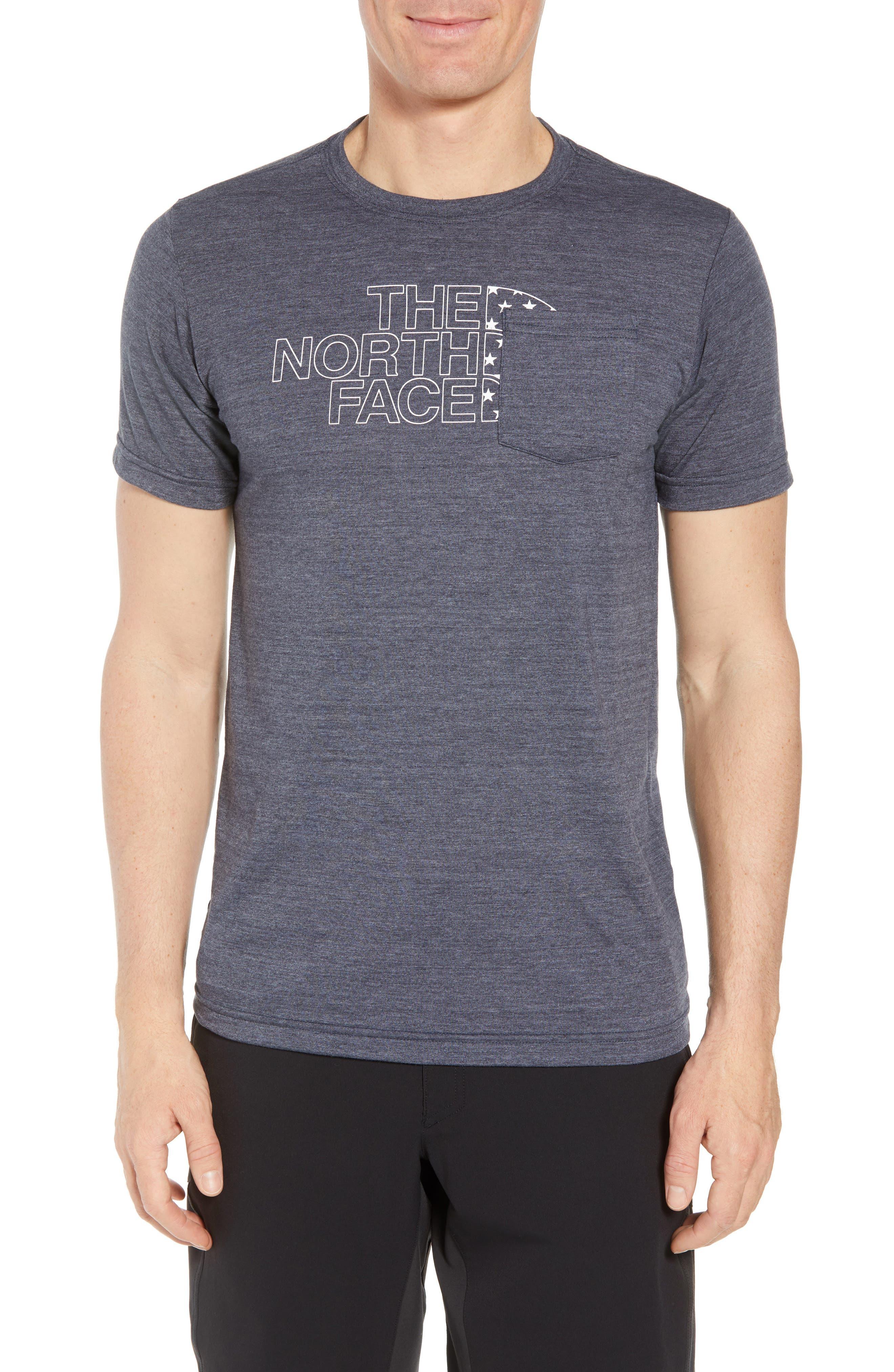 Americana Crewneck T-Shirt,                             Main thumbnail 2, color,
