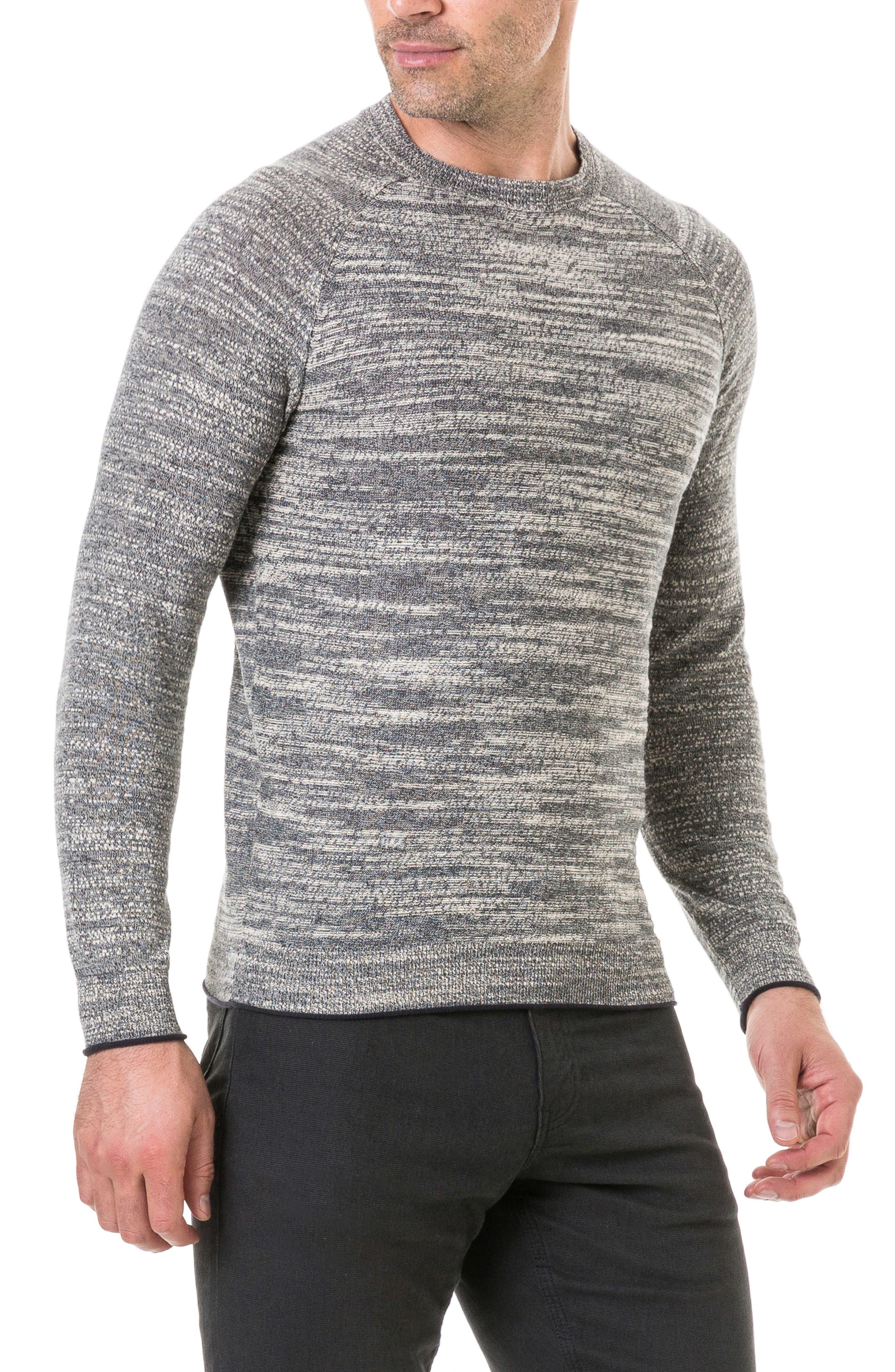 Atley Road Regular Fit Raglan Shirt,                             Alternate thumbnail 3, color,                             GRANITE