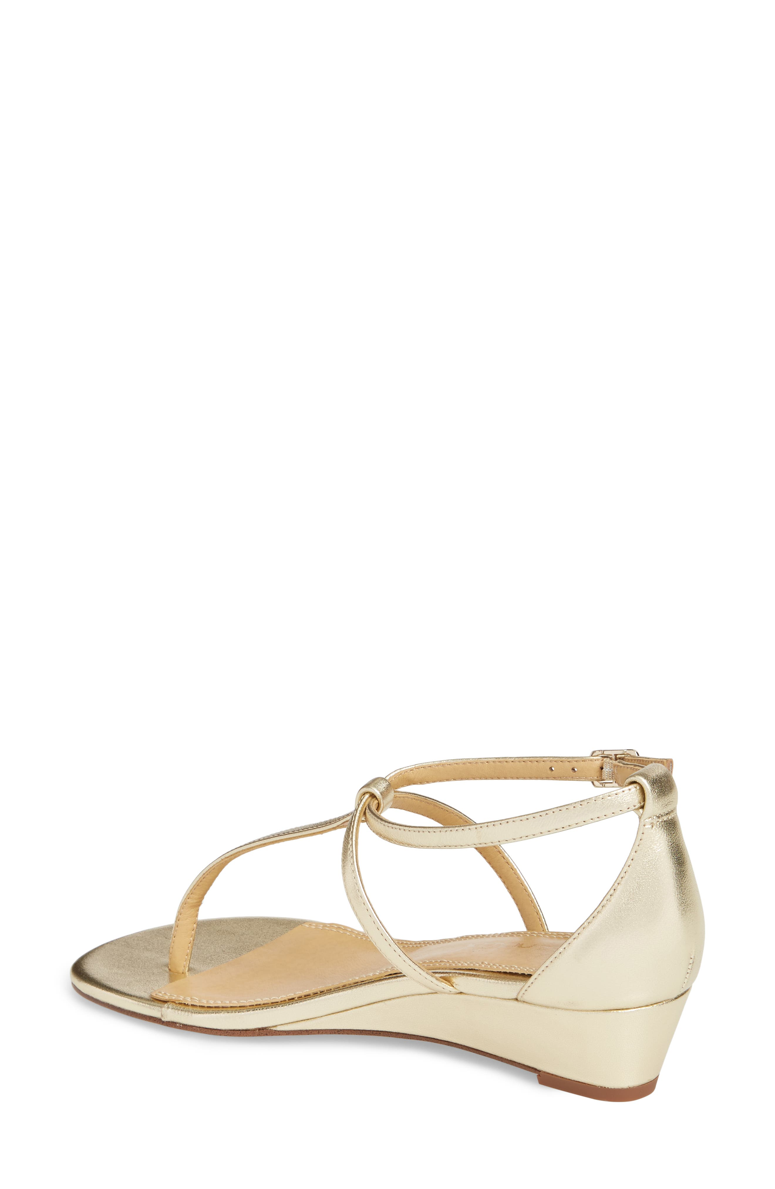 Bryce T-Strap Wedge Sandal,                             Alternate thumbnail 12, color,