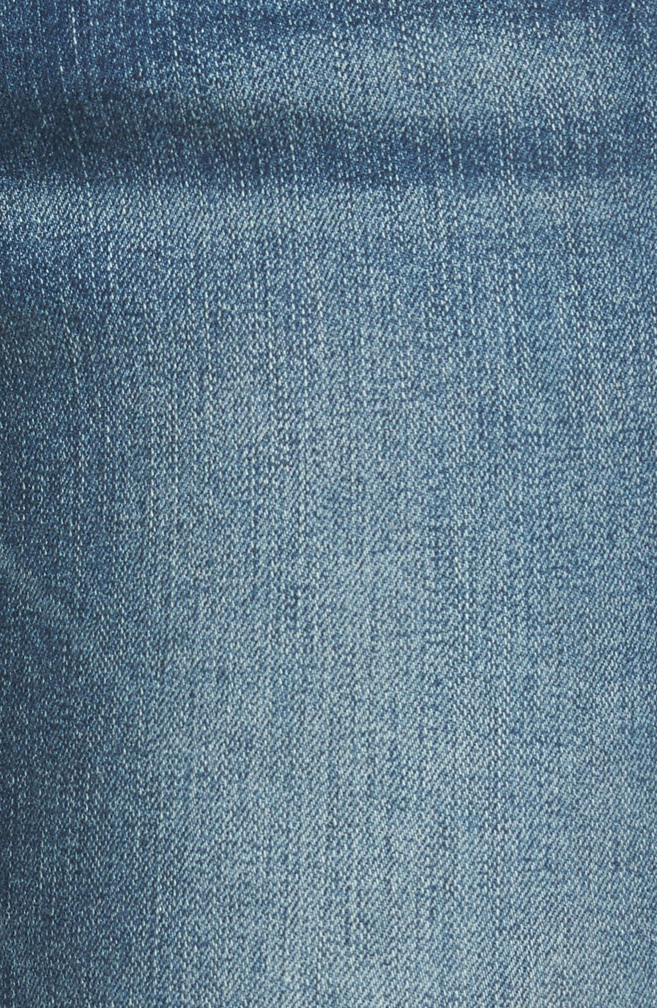 VIGOSS,                             Jagger Release Hem Skinny Jeans,                             Alternate thumbnail 5, color,                             426