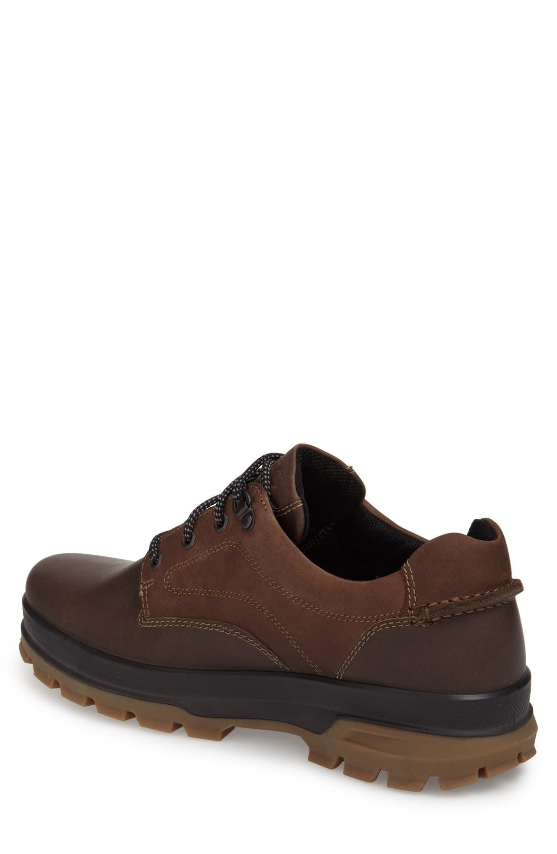 'Rugged Track GTX' Oxford,                             Alternate thumbnail 3, color,                             DARK CLAY/ COFFEE LEATHER