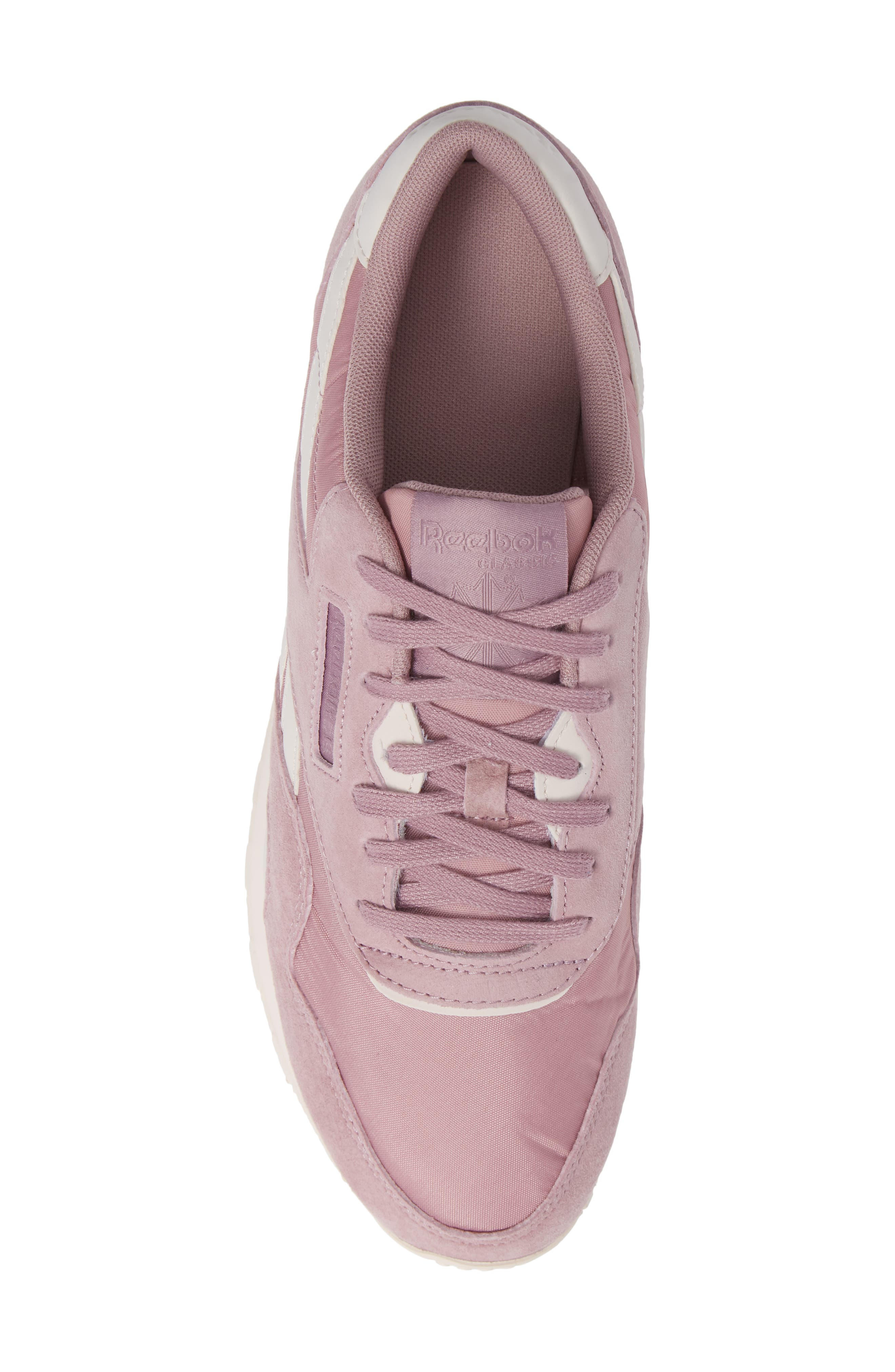 Classic Sneaker,                             Alternate thumbnail 5, color,                             INFUSED LILAC/ PALE PINK