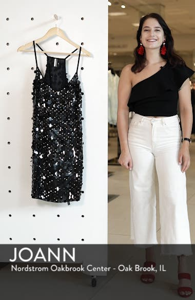 Disc Sequin Slipdress, sales video thumbnail