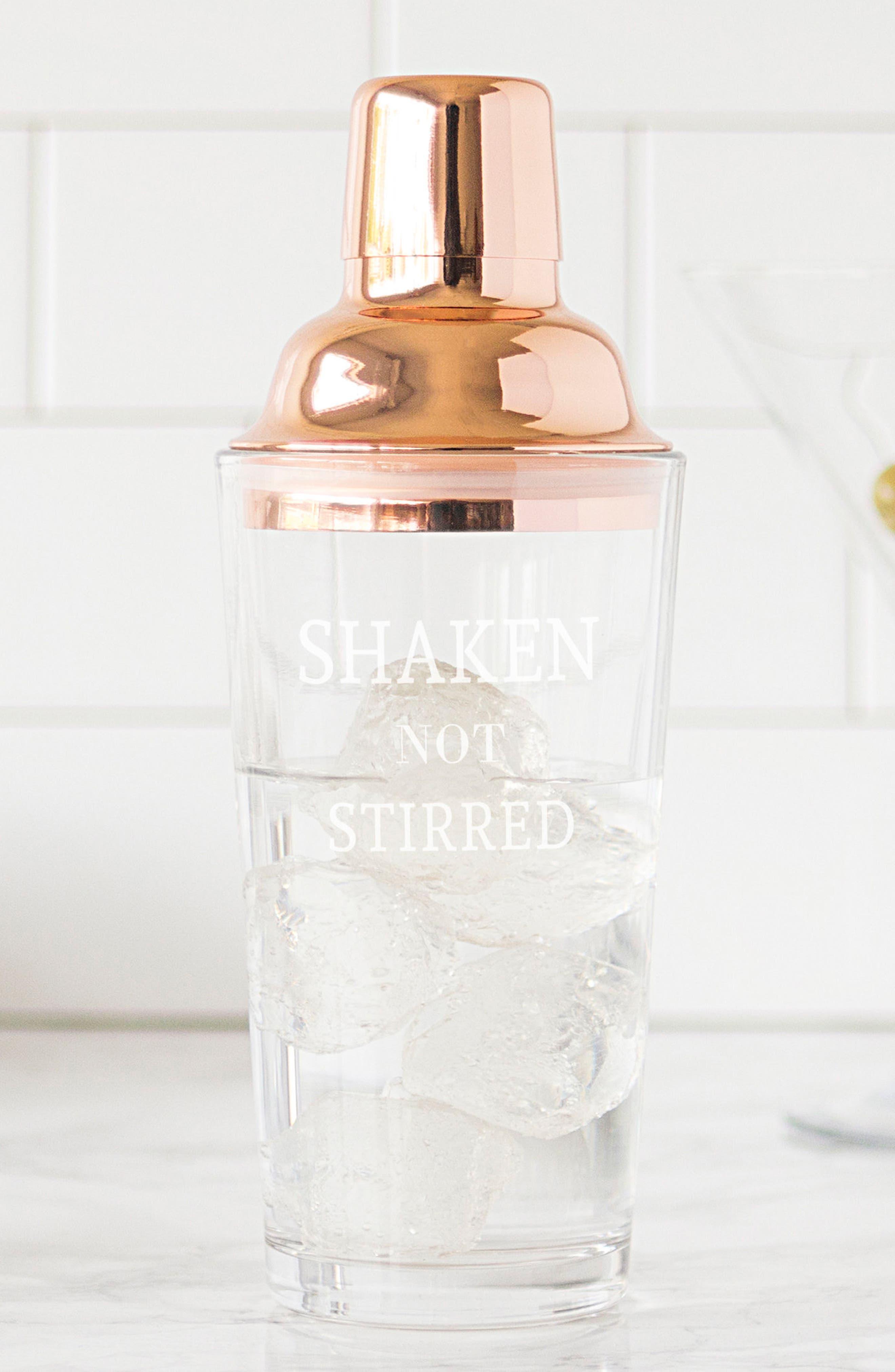 Shaken Not Stirred Cocktail Shaker,                             Alternate thumbnail 23, color,
