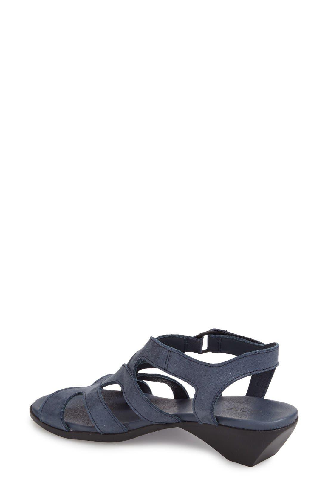 'Obela' Water Resistant Leather Sandal,                             Alternate thumbnail 11, color,
