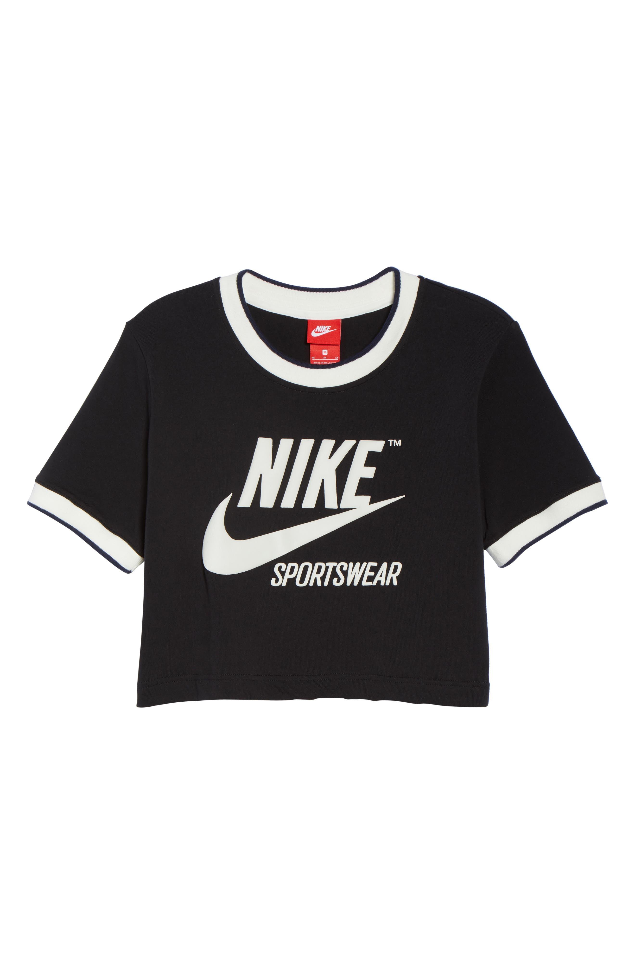 Sportswear Crop Top,                             Alternate thumbnail 7, color,                             010