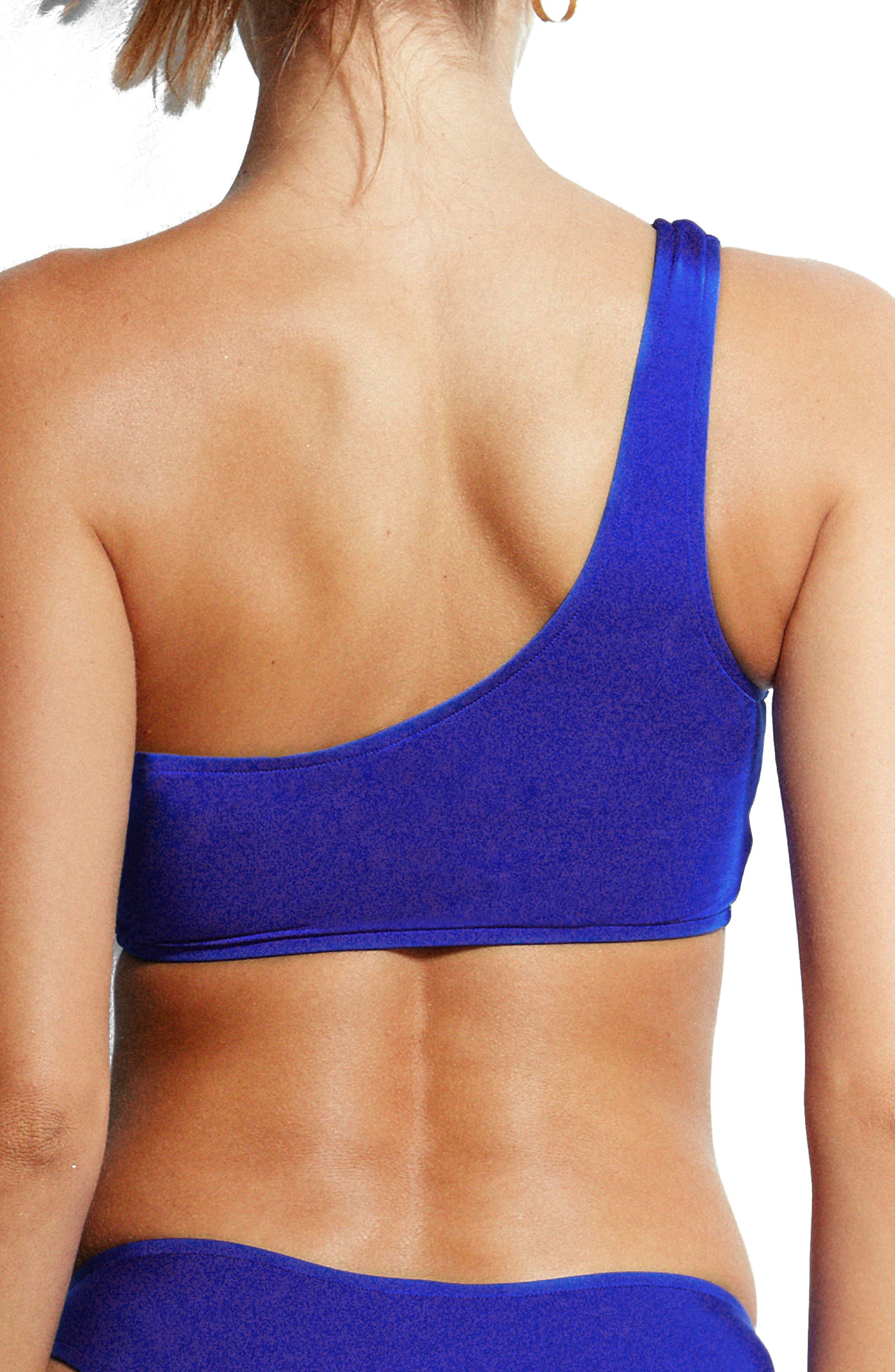 Stella One-Shoulder Bikini Top,                             Alternate thumbnail 2, color,                             467