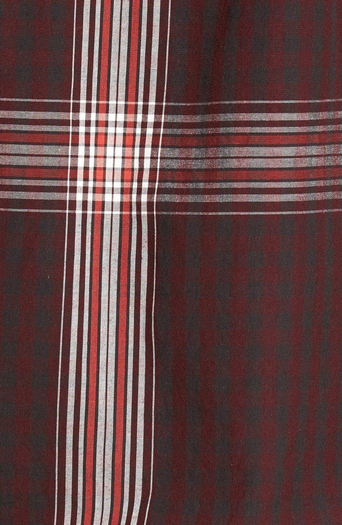'Brit' Trim Fit Long Sleeve Sport Shirt,                             Alternate thumbnail 3, color,                             543