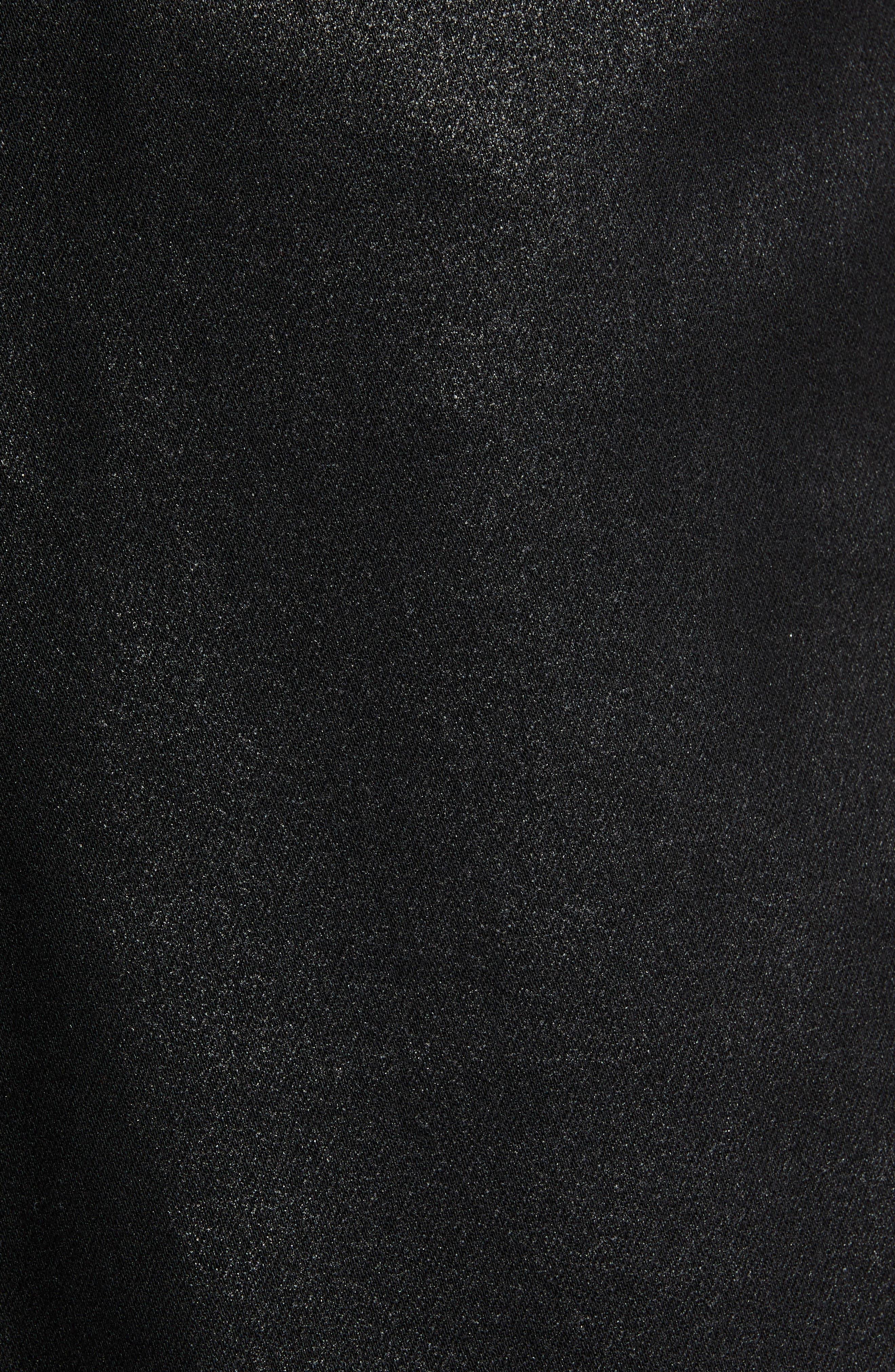 Transcend - Lennox Slim Fit Jeans,                             Alternate thumbnail 5, color,                             WILKS COATED