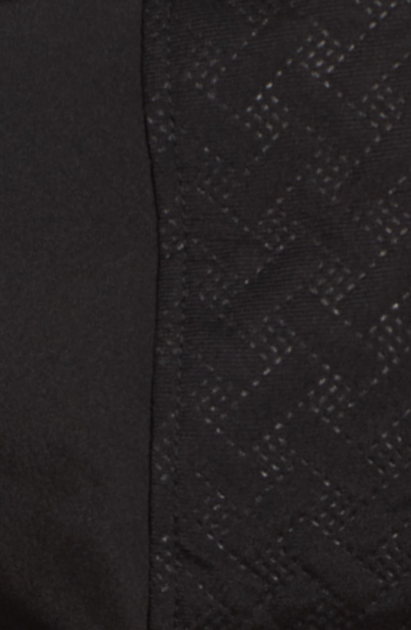 Asymmetrical Soft Shell Coat,                             Alternate thumbnail 6, color,                             001
