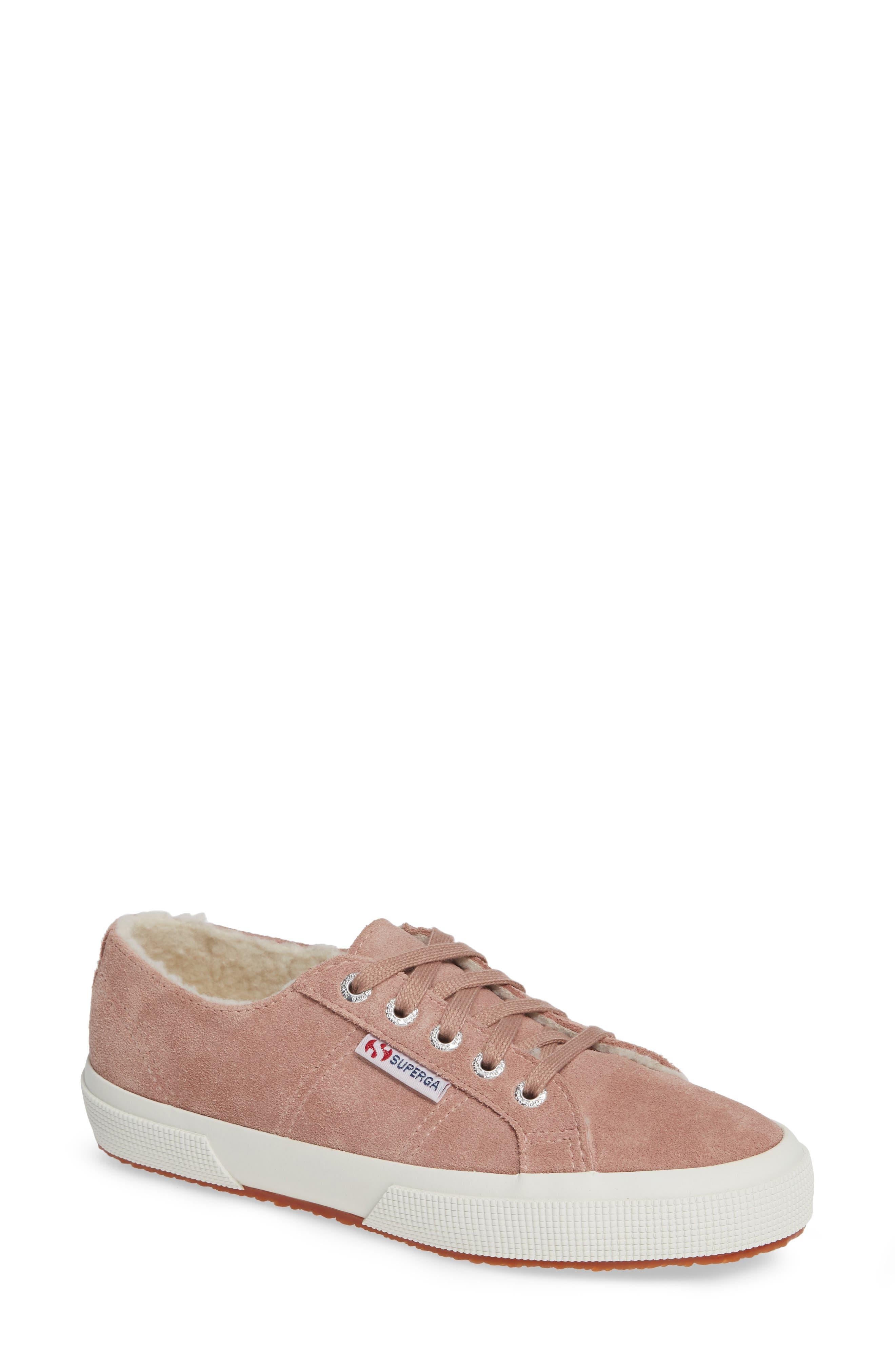 2750 Suefurw Sneaker,                             Main thumbnail 1, color,                             ROSE SUEDE