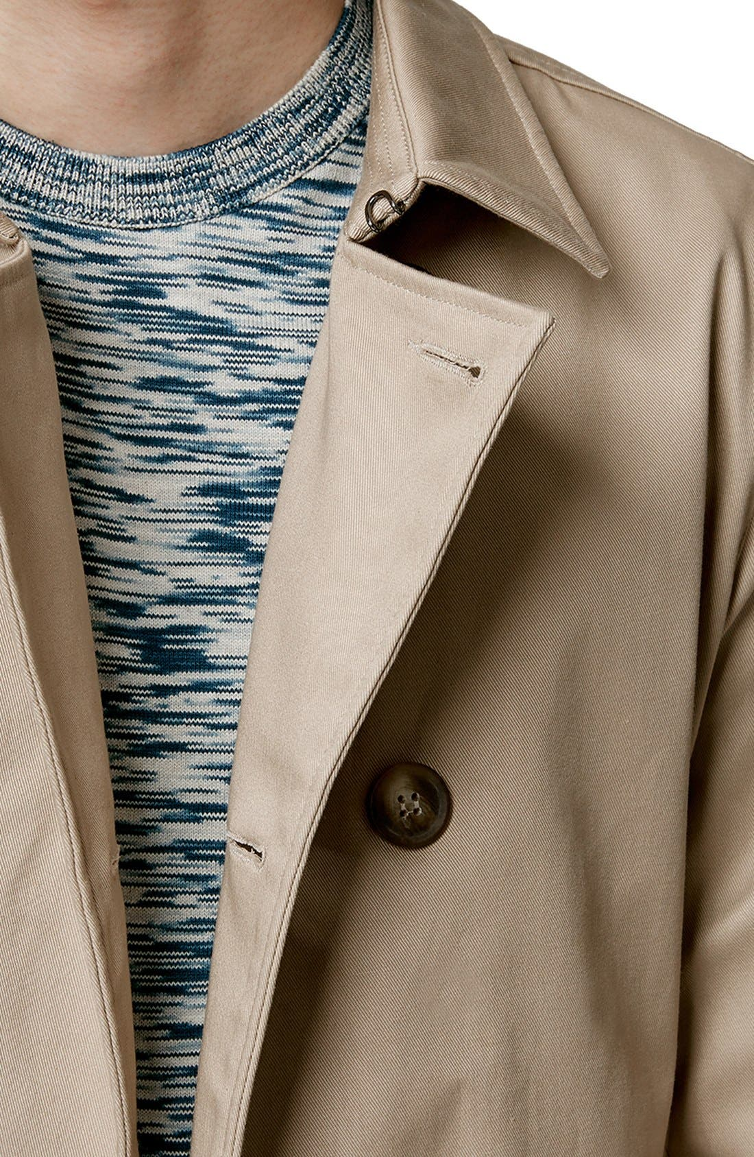 Double Breasted Trench Coat,                             Alternate thumbnail 4, color,                             250