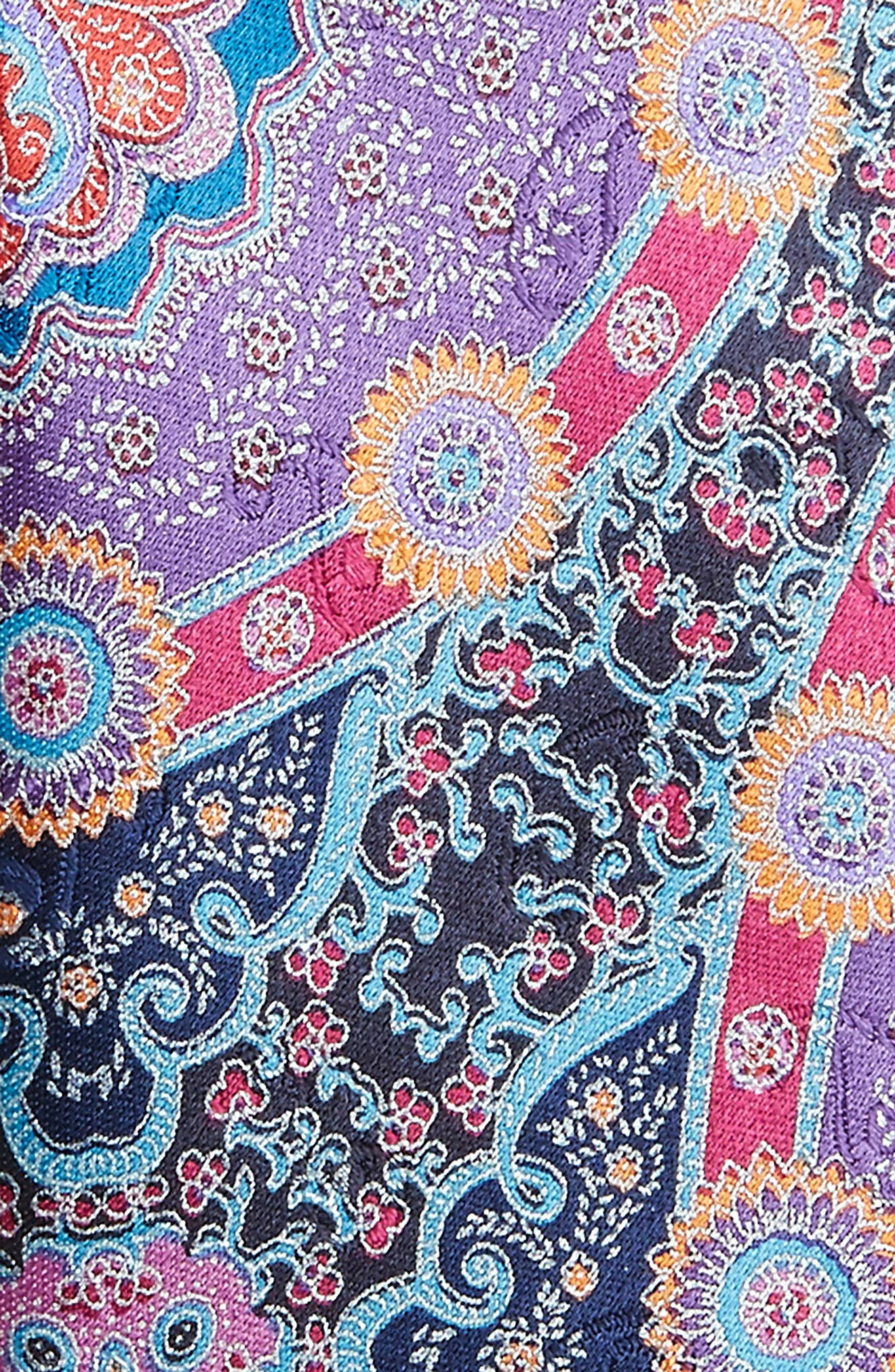 Quindici Paisley Silk Tie,                             Alternate thumbnail 2, color,                             500