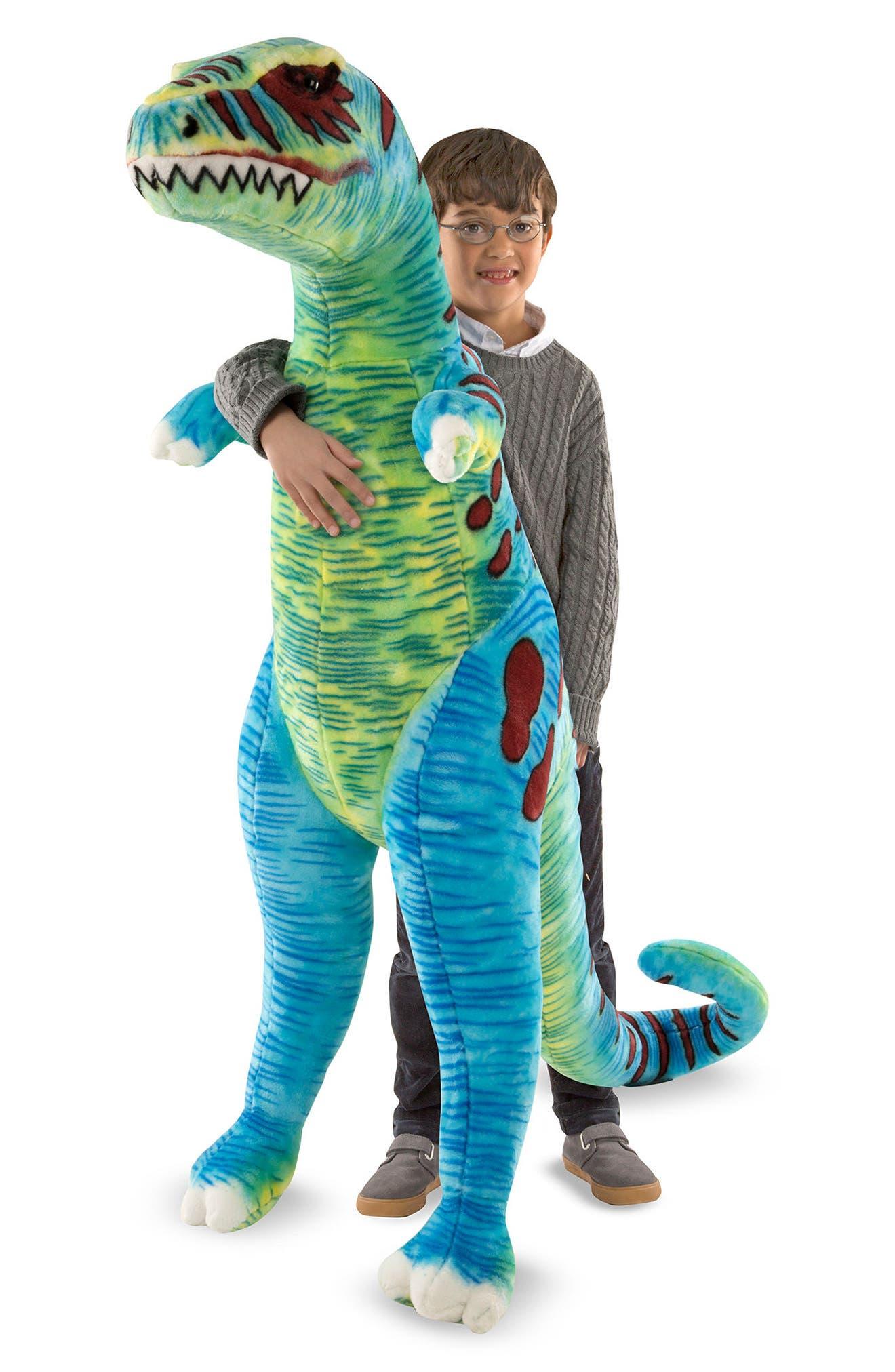 Giant T-Rex Plush,                             Main thumbnail 1, color,                             300