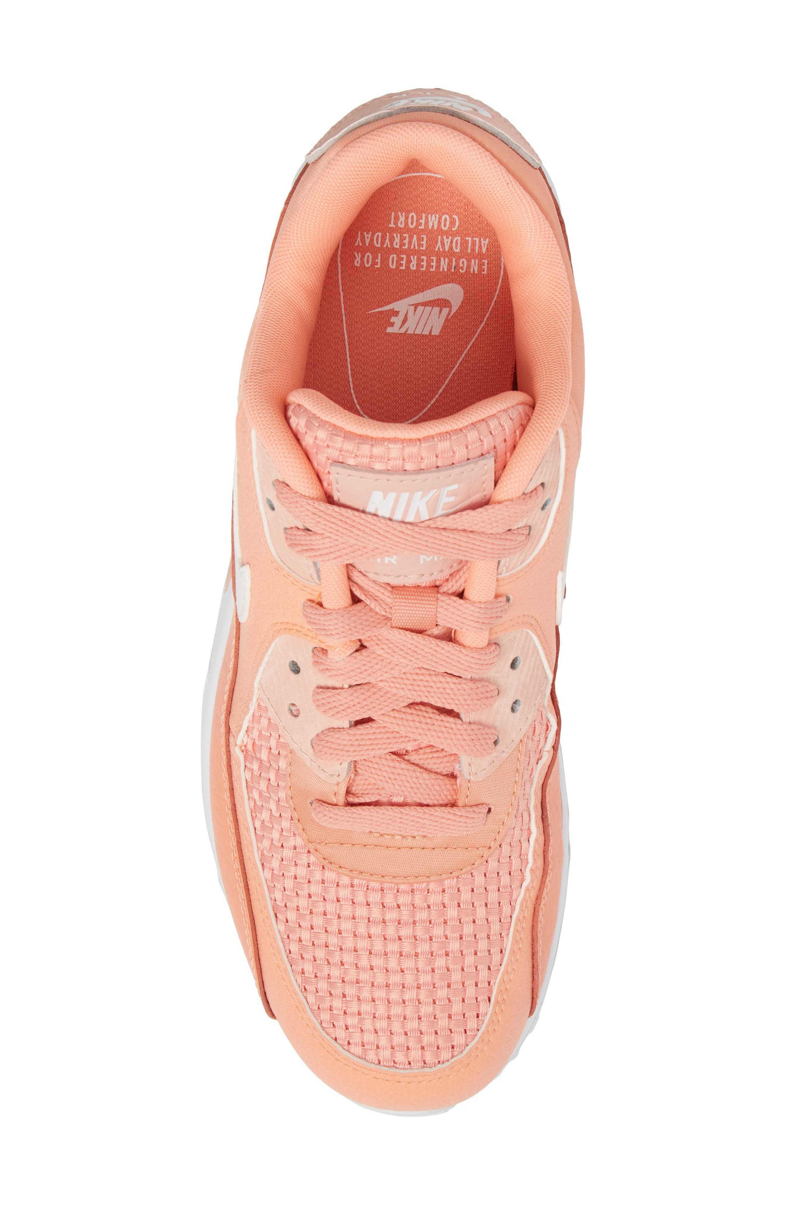 Air Max 90 SE Sneaker,                             Alternate thumbnail 39, color,