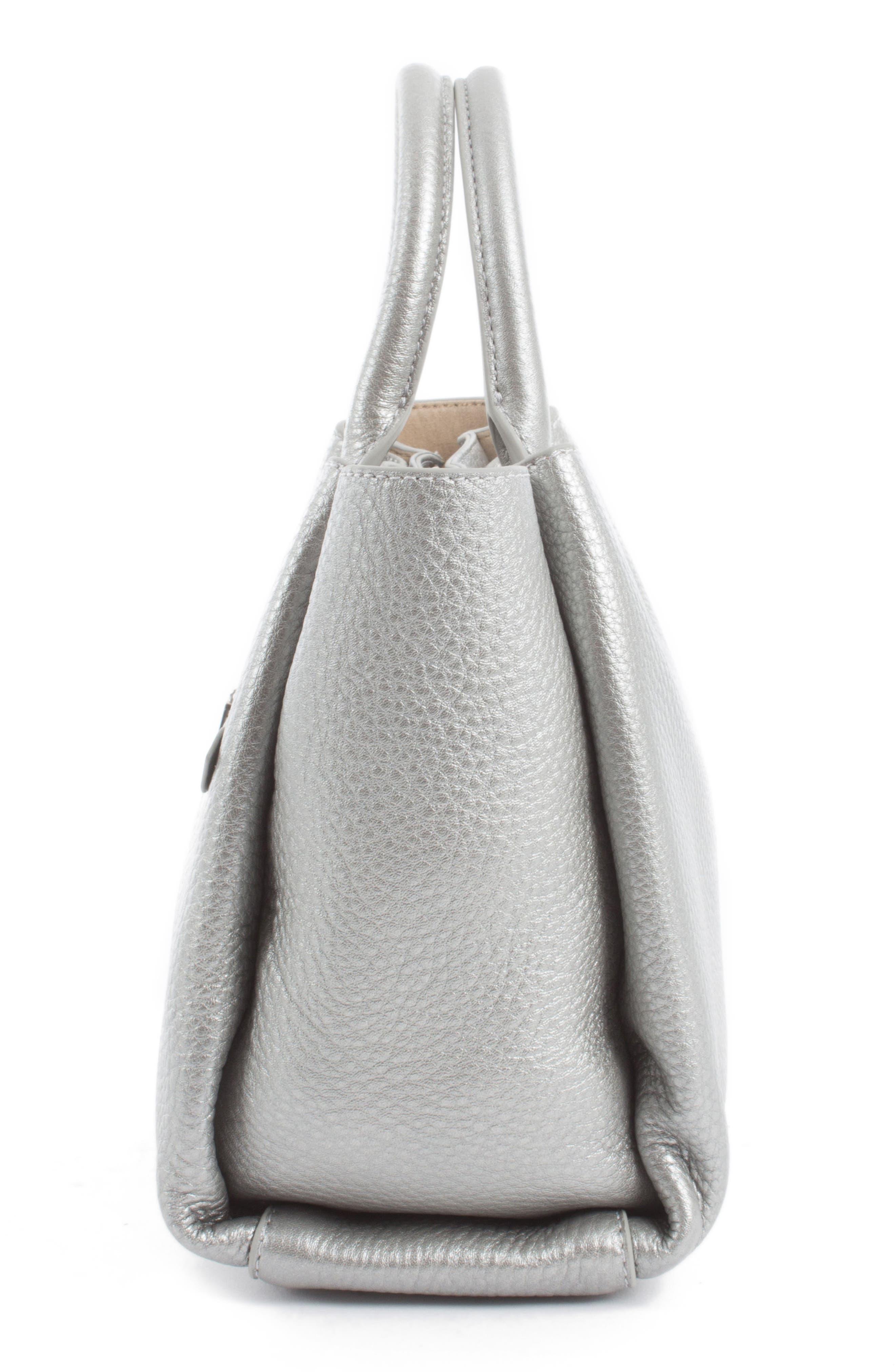 Céline Dion Small Adagio Leather Satchel,                             Alternate thumbnail 22, color,