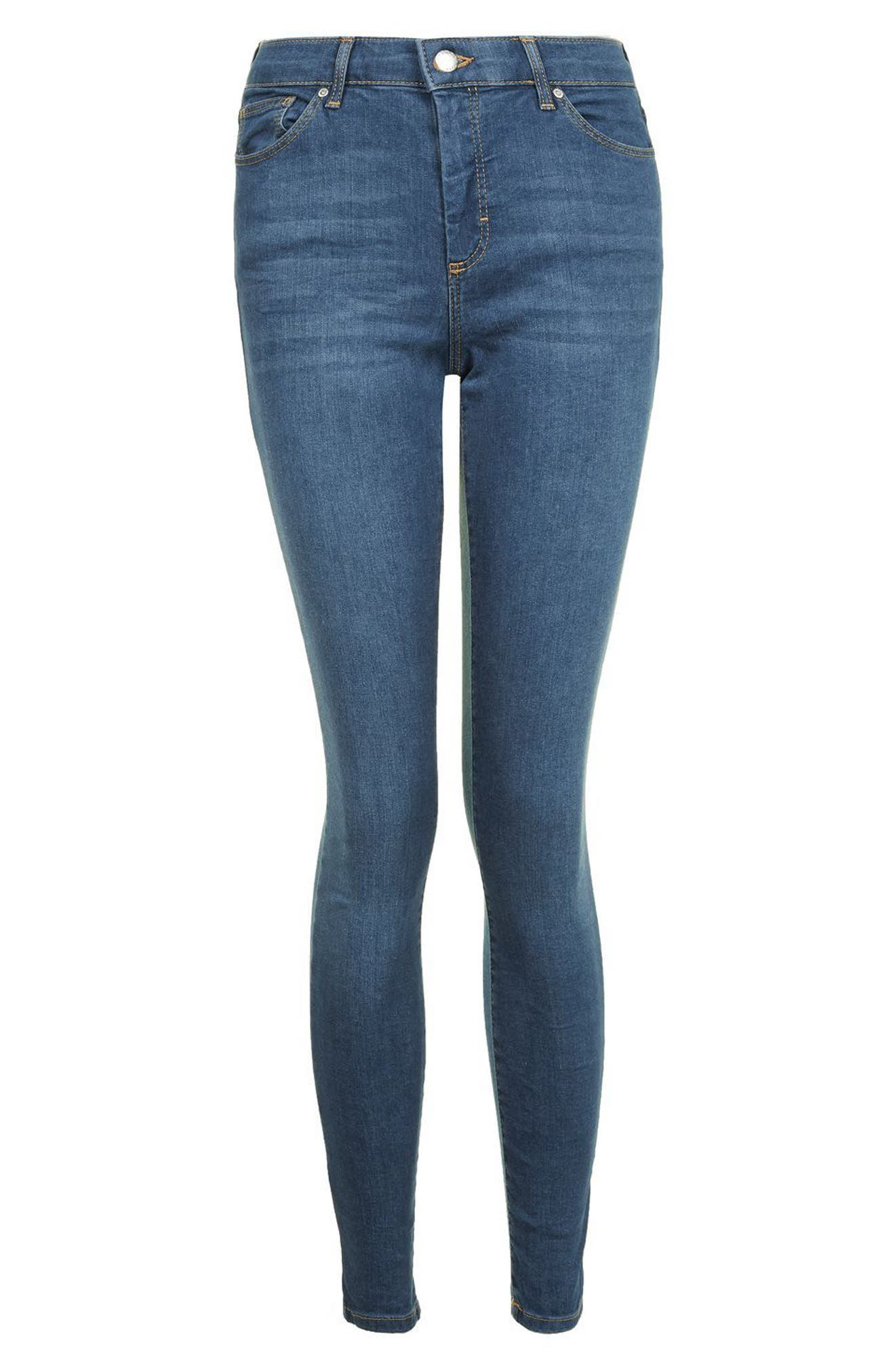 Leigh Skinny Jeans,                             Alternate thumbnail 5, color,                             400