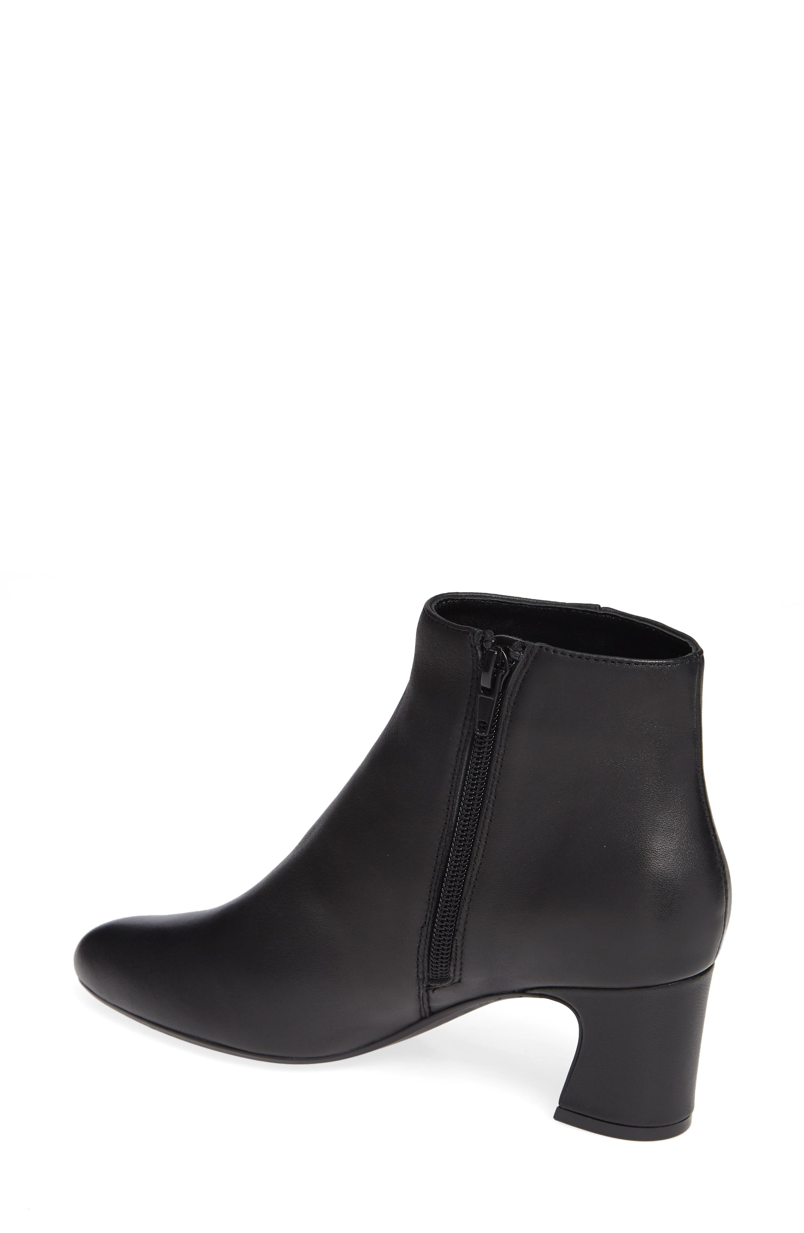 Dany Bootie,                             Alternate thumbnail 2, color,                             BLACK LEATHER