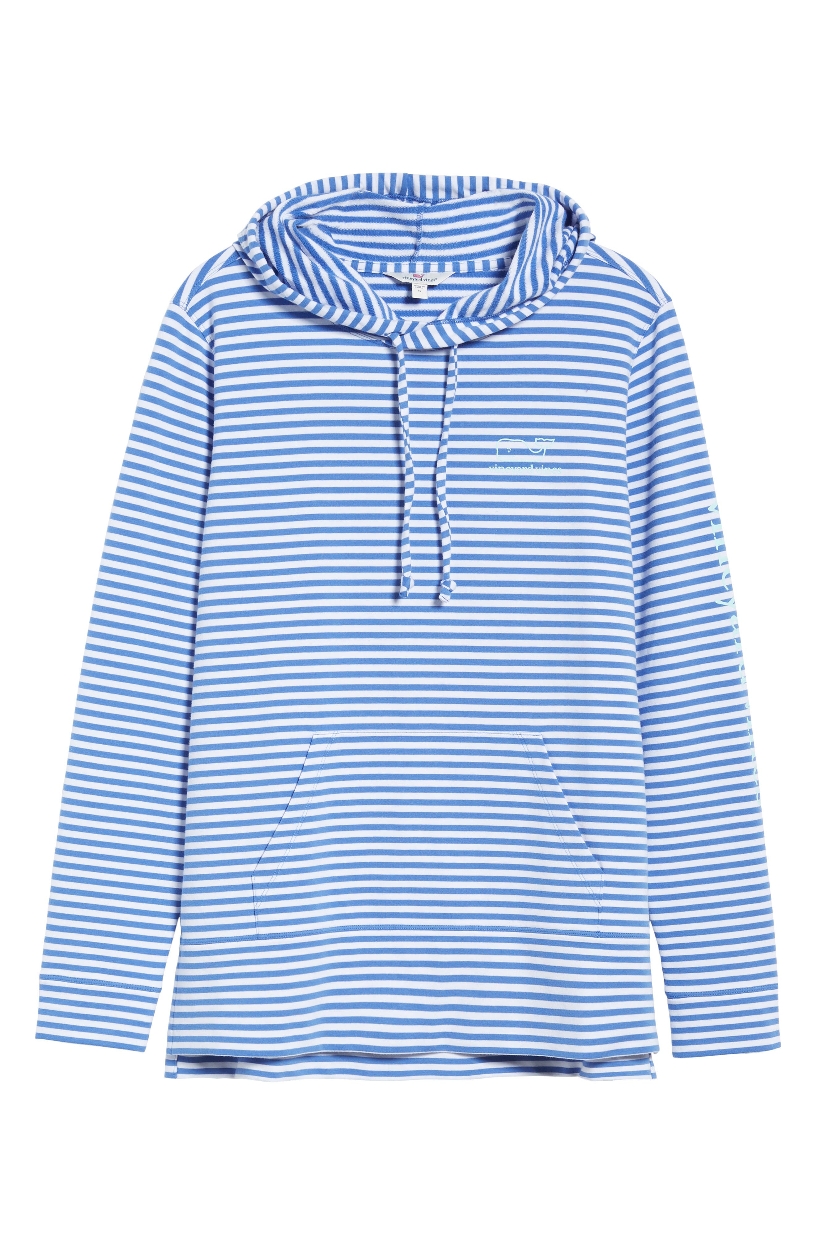 Stripe Whale Hoodie,                             Alternate thumbnail 6, color,                             477