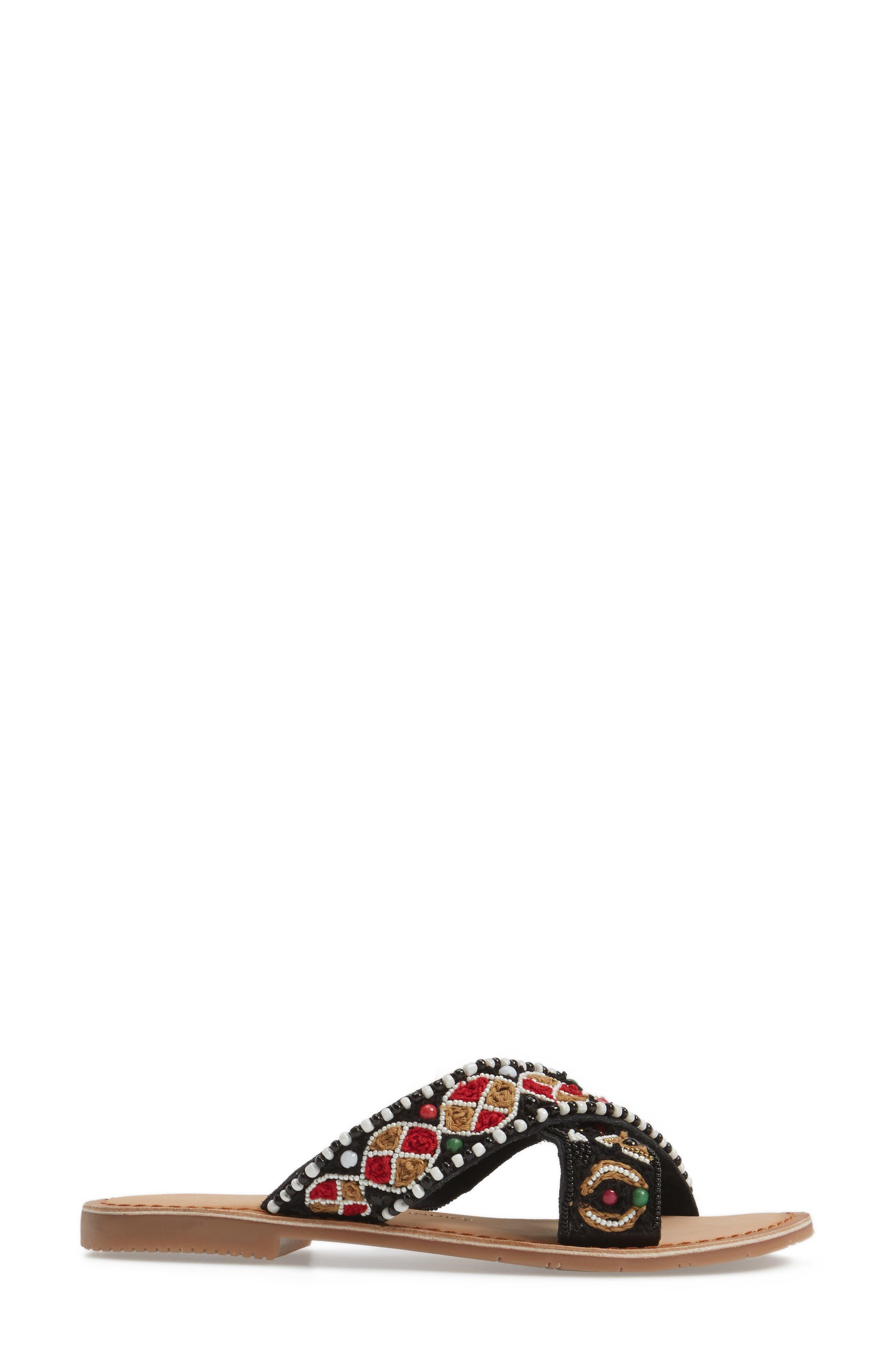 CHINESE LAUNDRY,                             Purfect Slide Sandal,                             Alternate thumbnail 3, color,                             001