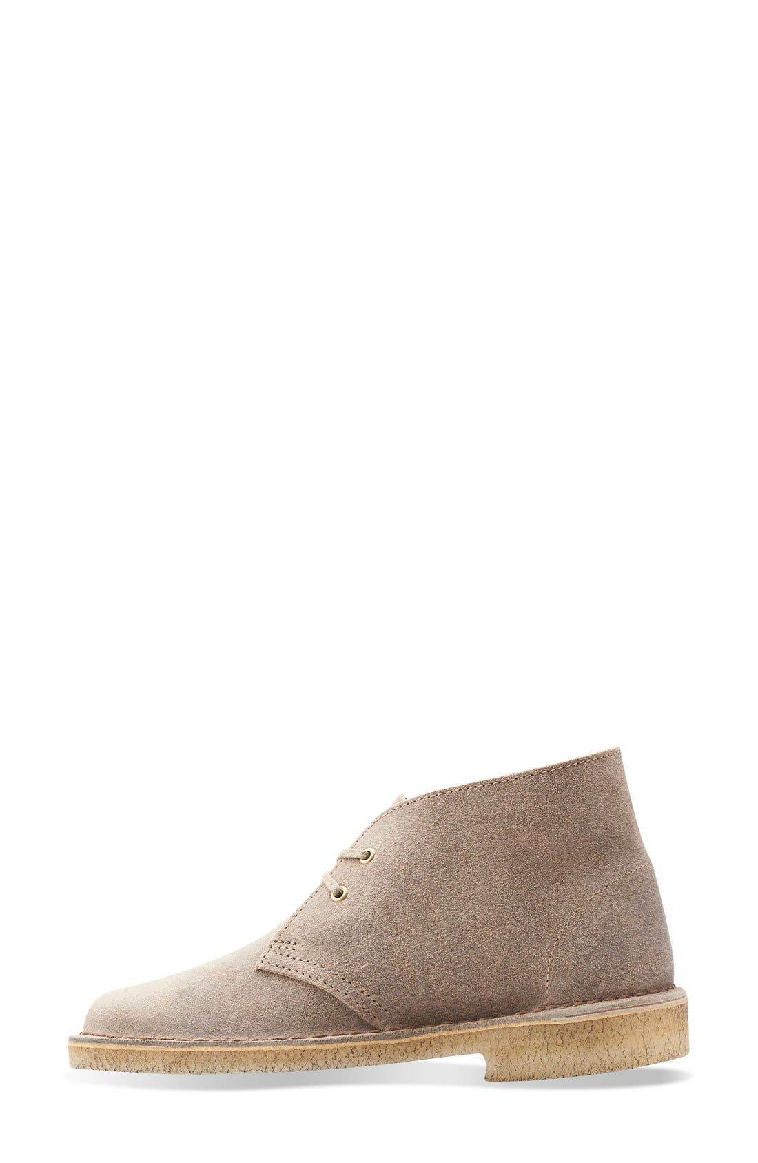 Desert Boot,                             Alternate thumbnail 2, color,                             TAUPE DISTRESSED SUEDE