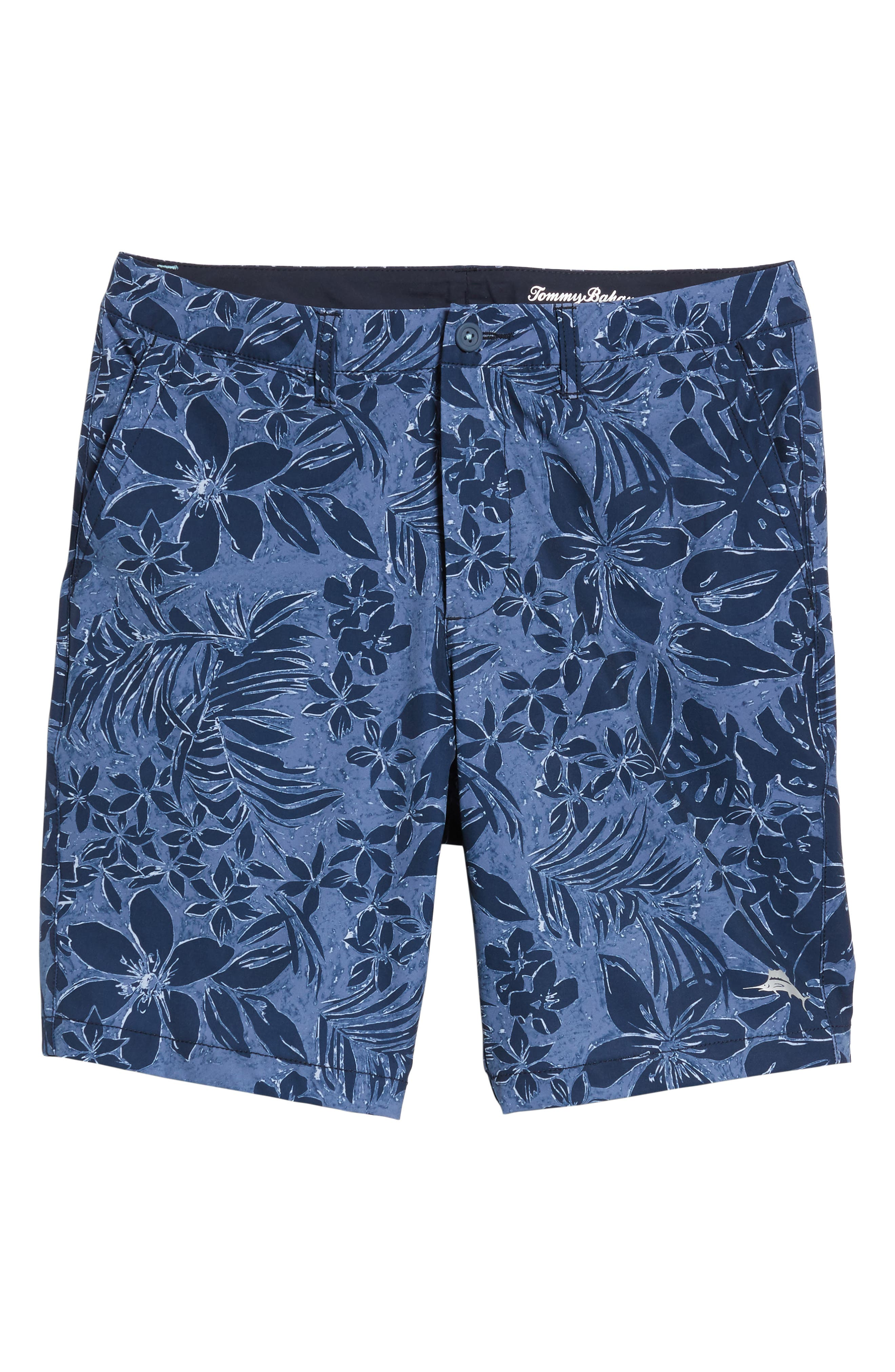 Cayman Camo Safari Hybrid Shorts,                             Alternate thumbnail 6, color,                             400