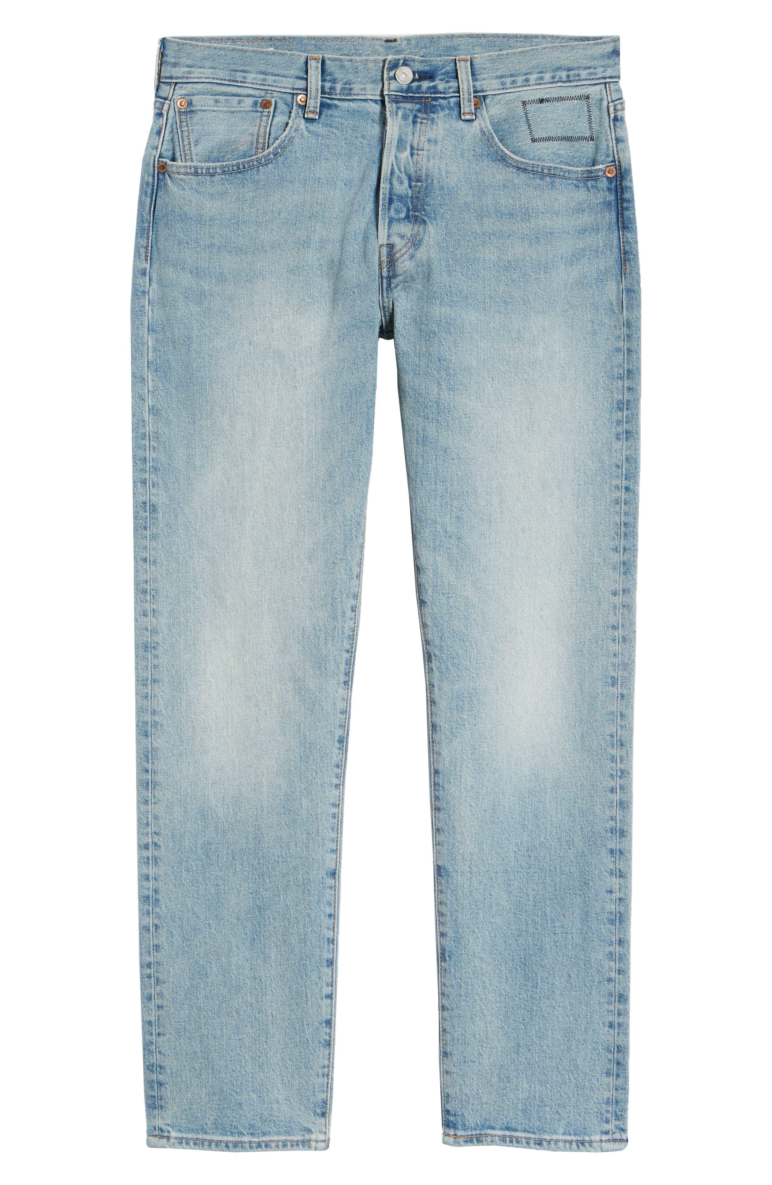 x Justin Timberlake 501<sup>®</sup> Slim Taper Jeans,                             Alternate thumbnail 7, color,                             HILLMAN