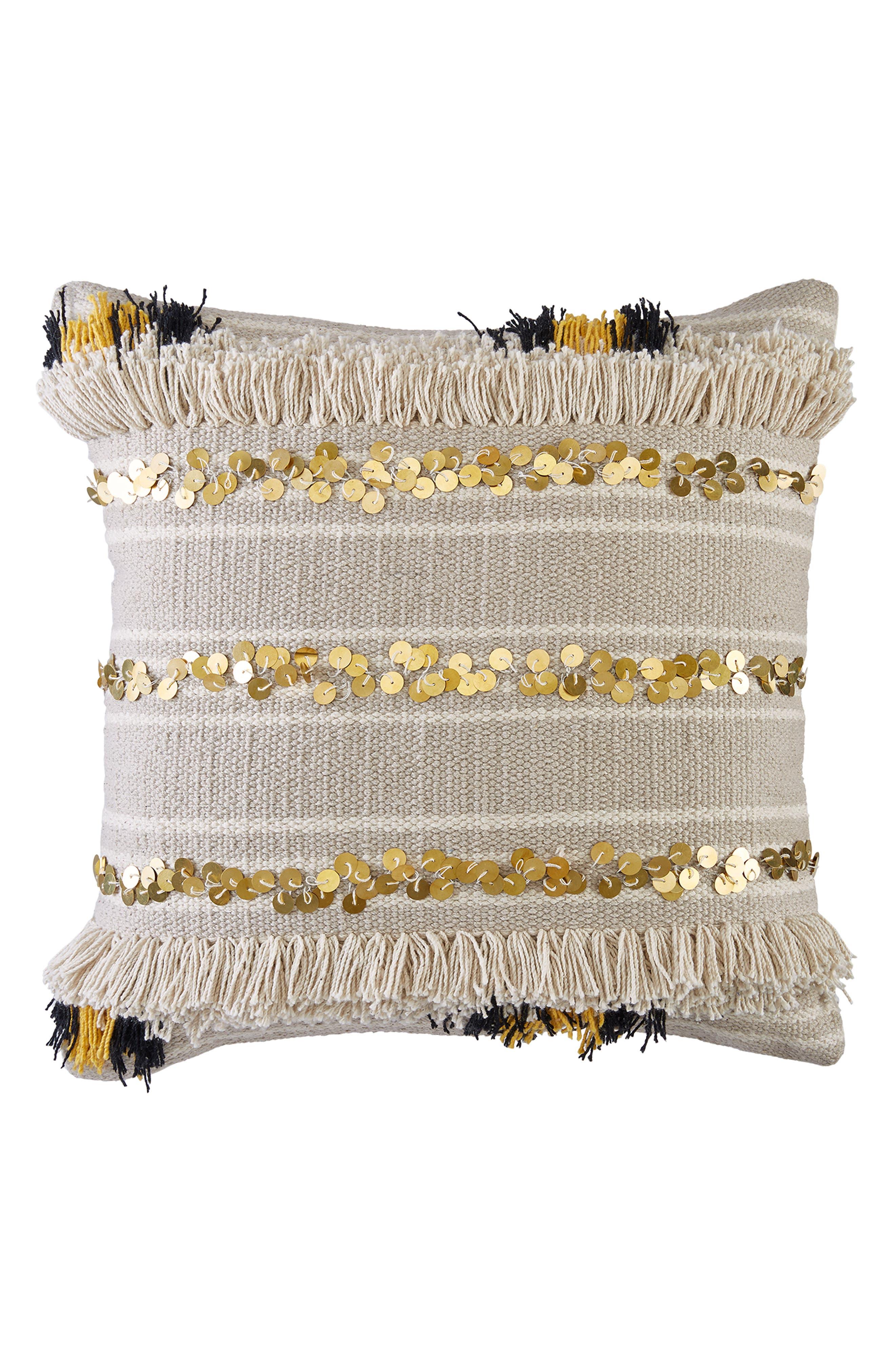 Moroccan Pailettes Accent Pillow,                             Main thumbnail 1, color,                             130