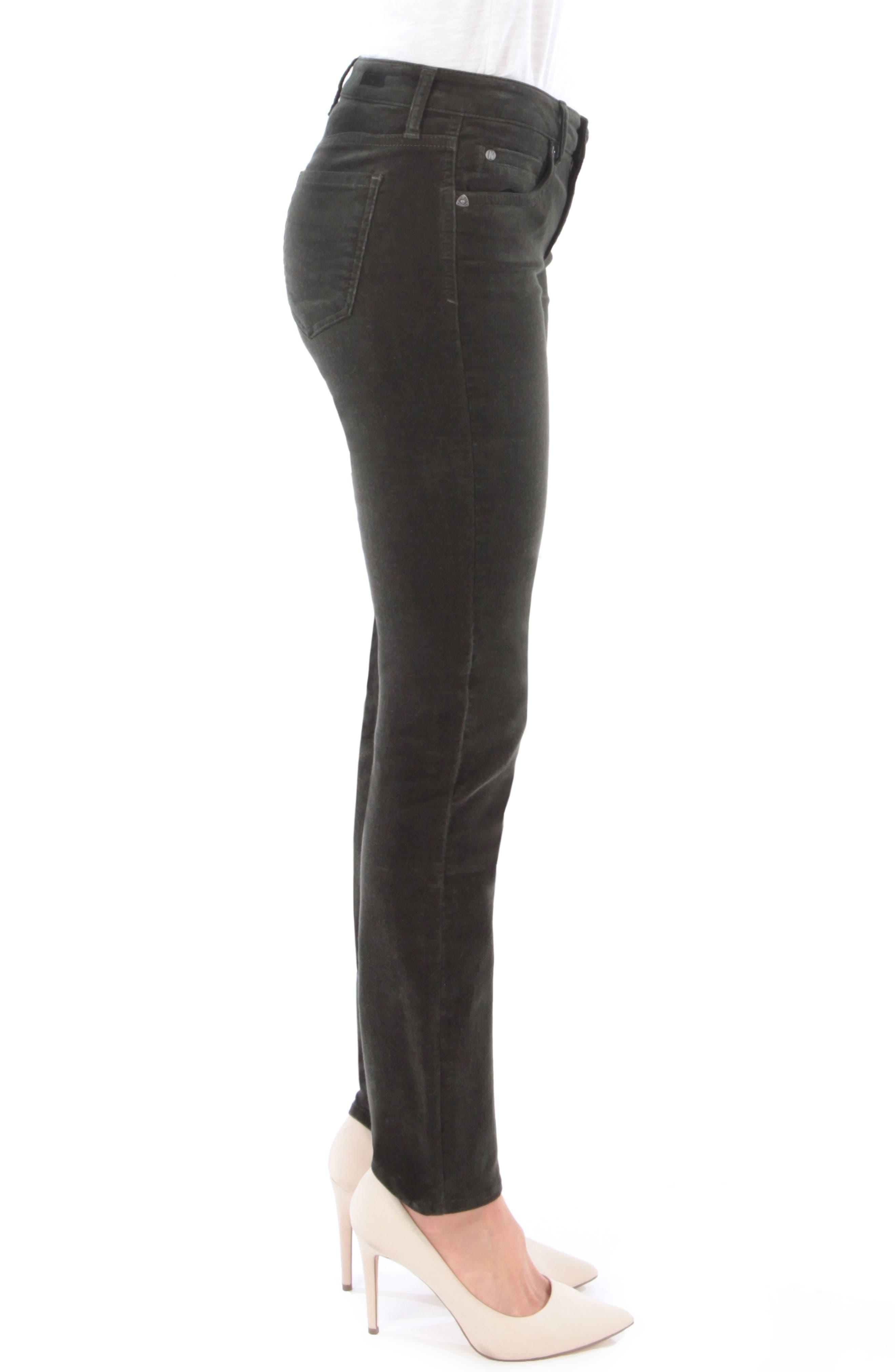 'Diana' Stretch Corduroy Skinny Pants,                             Alternate thumbnail 114, color,