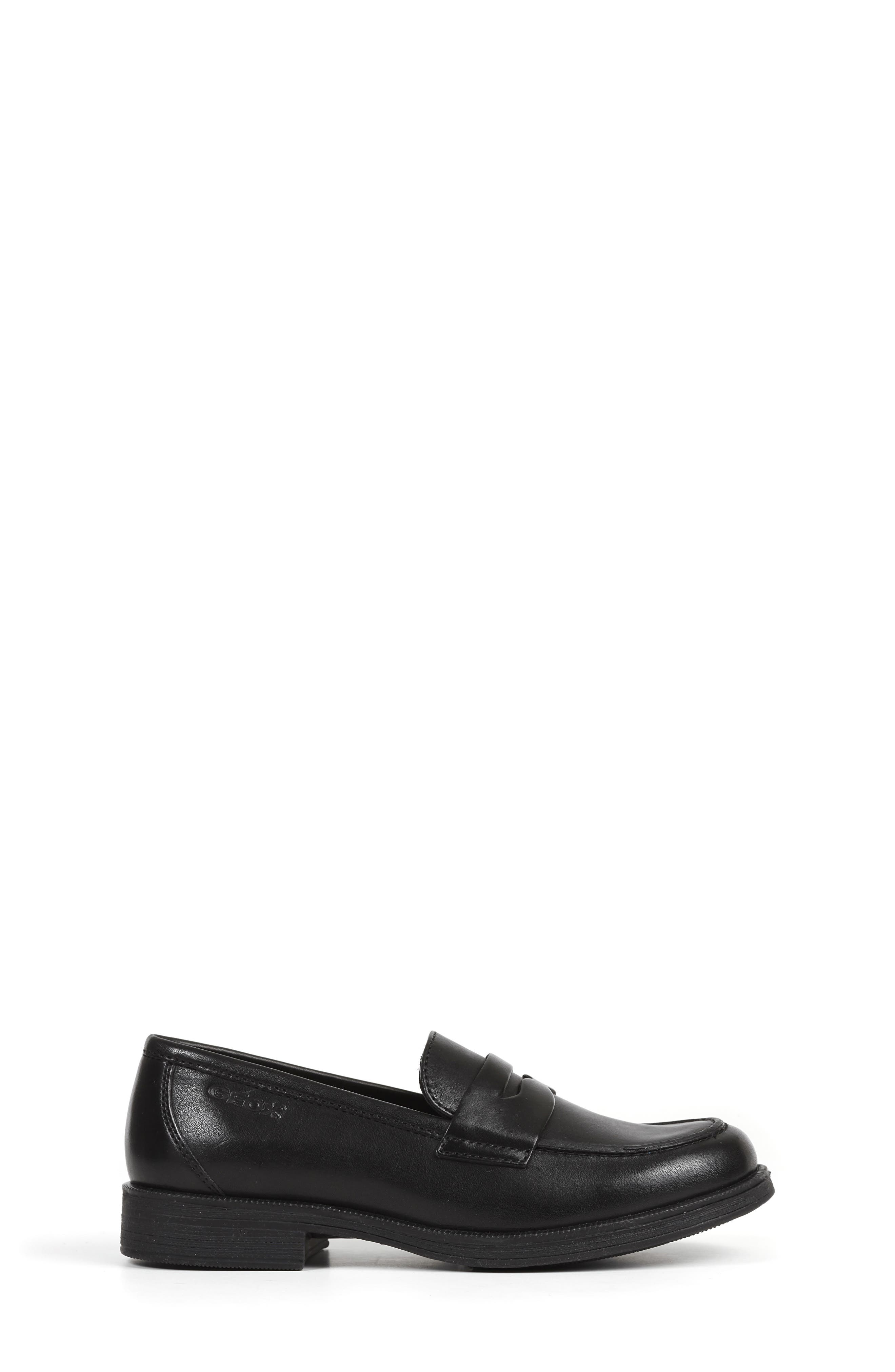 Agata 1 Penny Loafer,                             Alternate thumbnail 3, color,                             BLACK