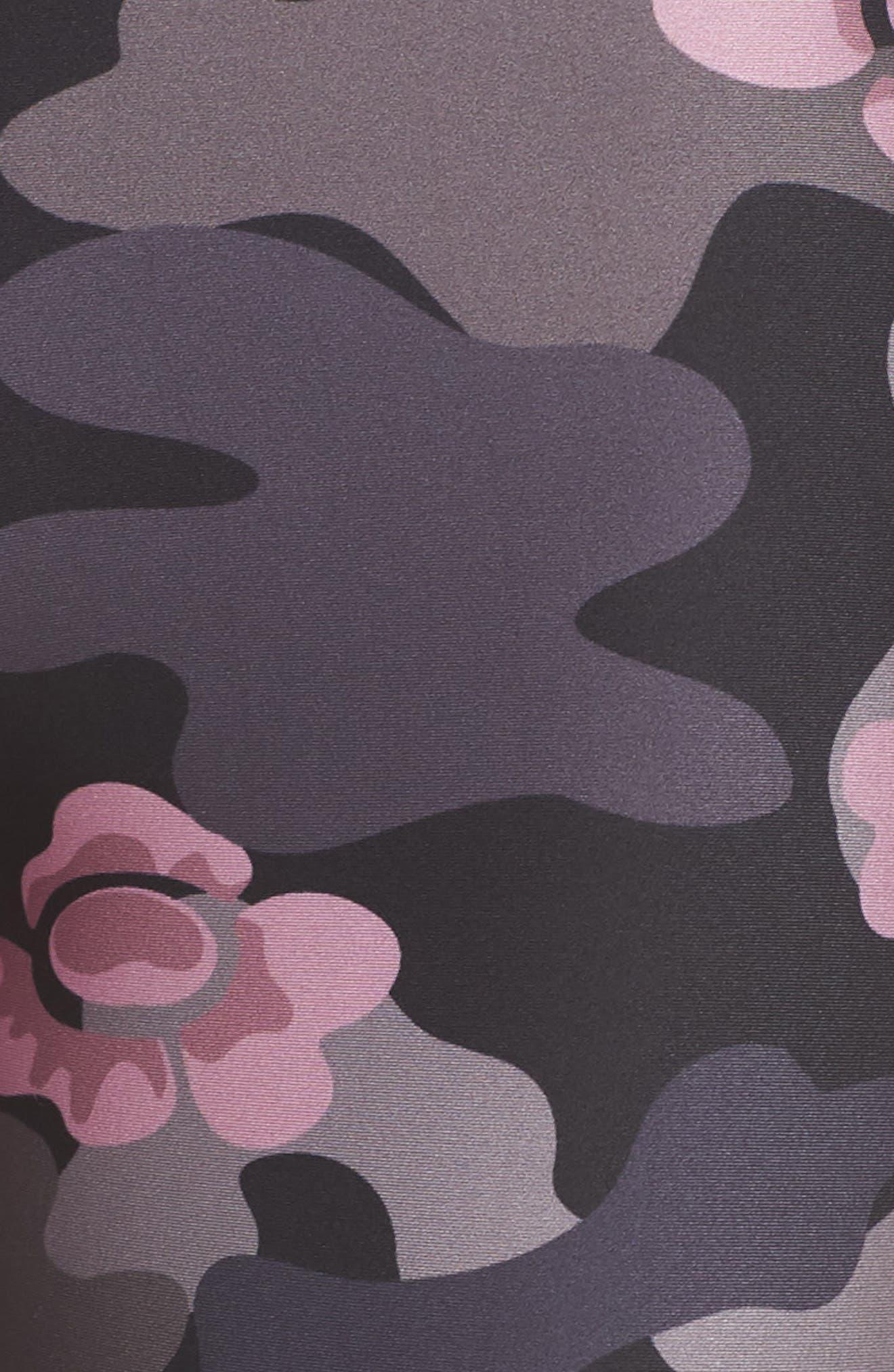 ULTRACOR,                             Ultra High Flower Camo Leggings,                             Alternate thumbnail 5, color,                             087