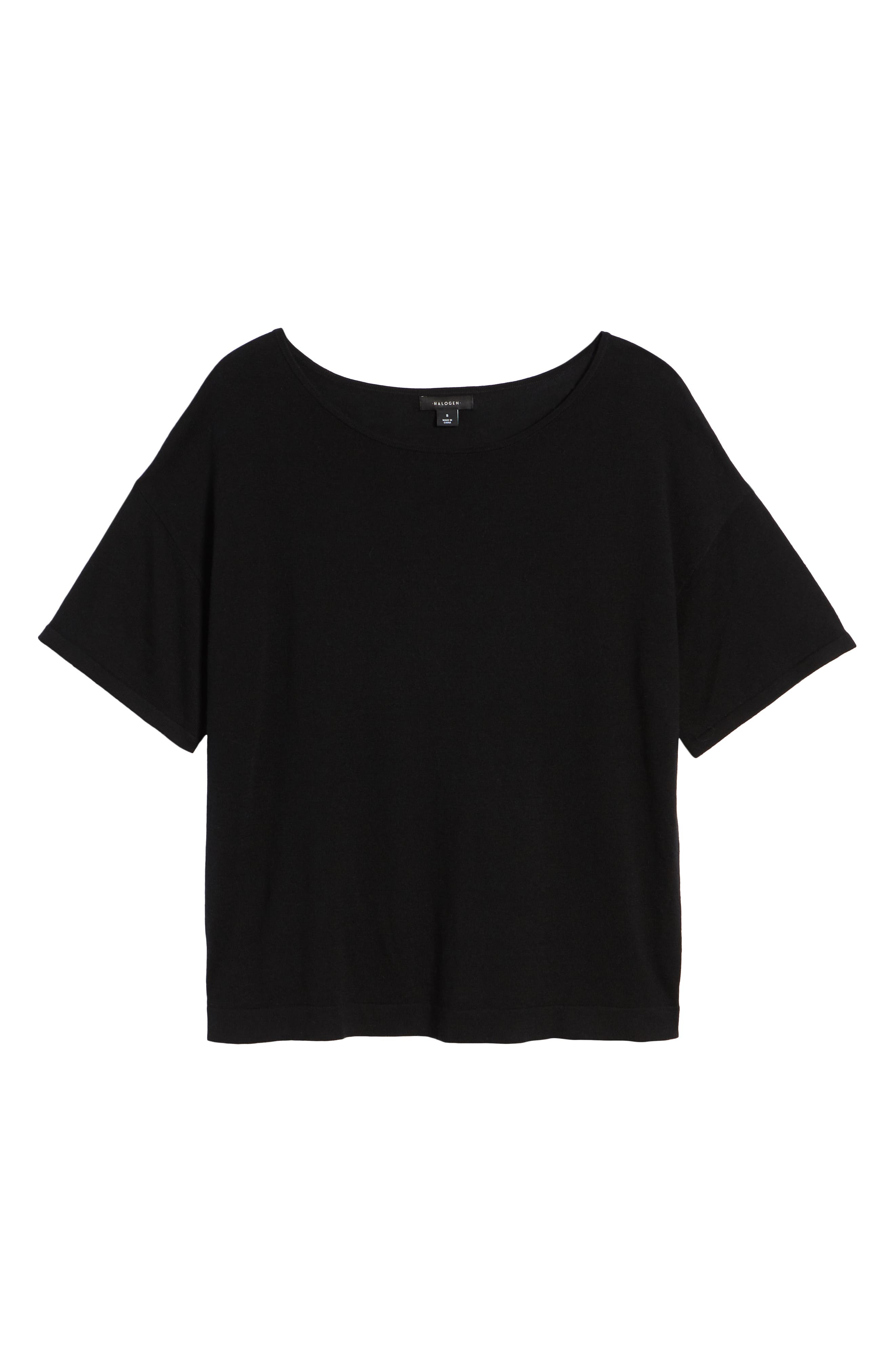 Lightweight Sweater,                             Alternate thumbnail 6, color,                             001