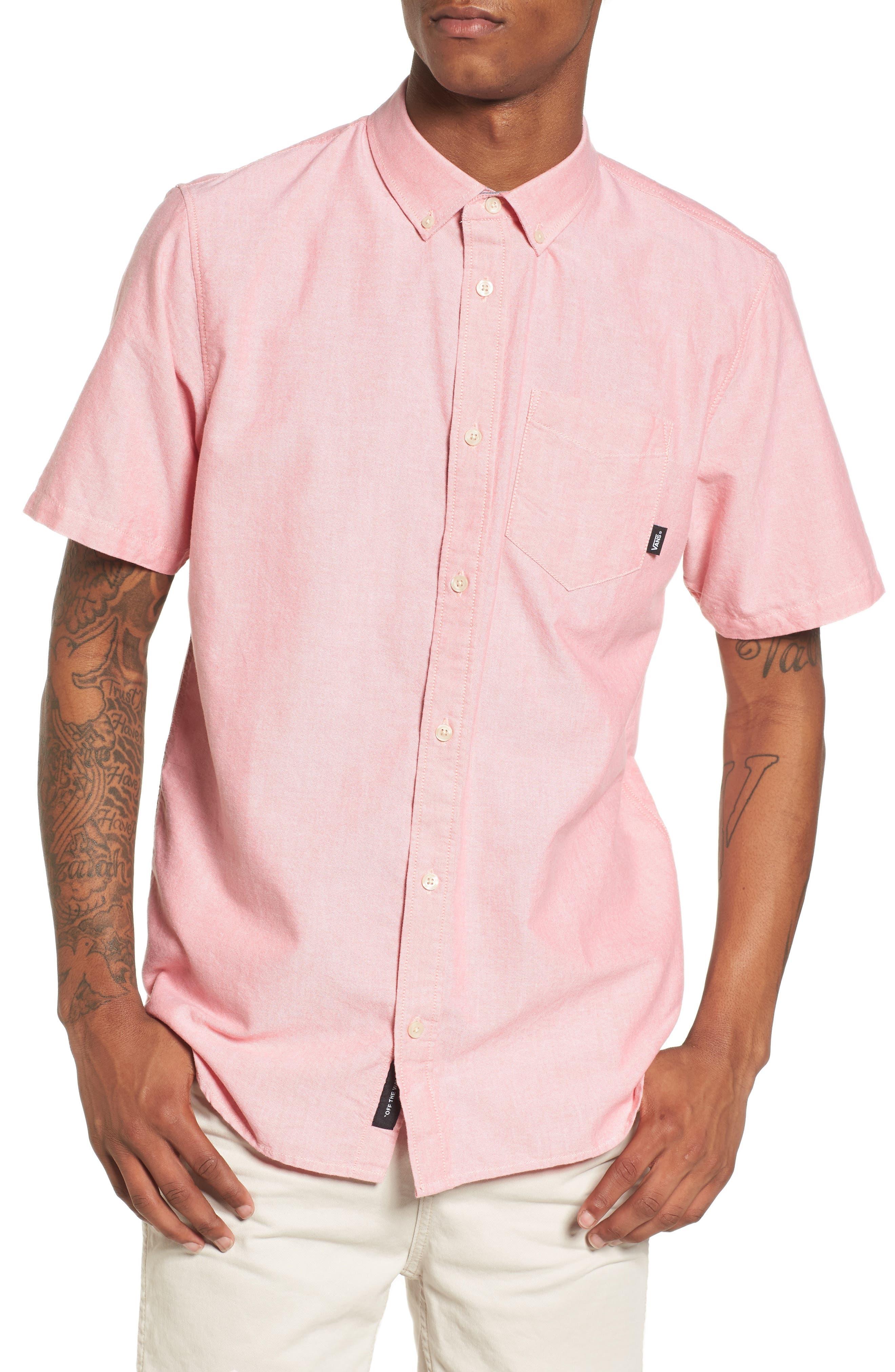Houser Solid Woven Shirt,                             Main thumbnail 1, color,                             950