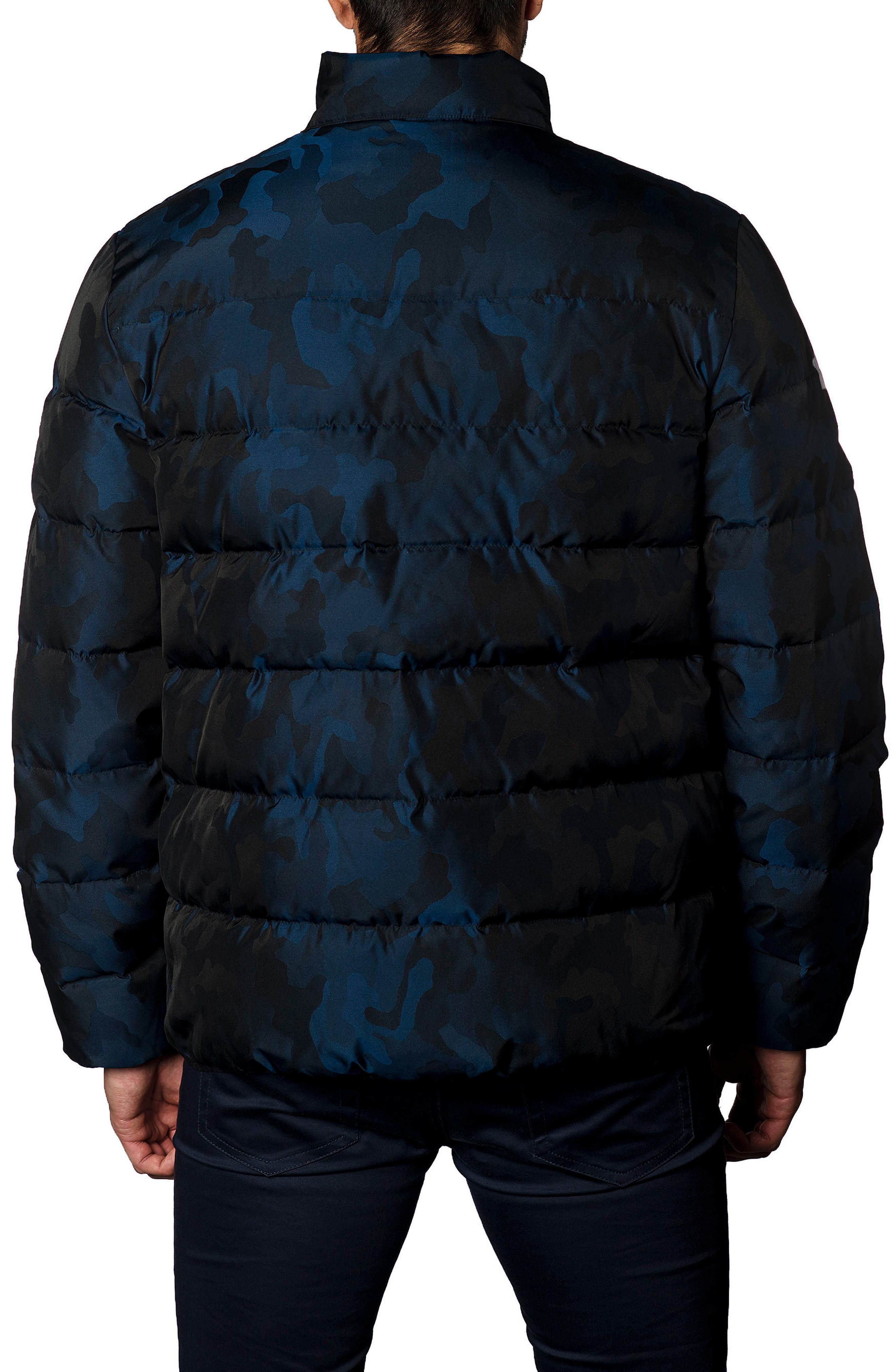 Down Puffer Jacket,                             Alternate thumbnail 7, color,