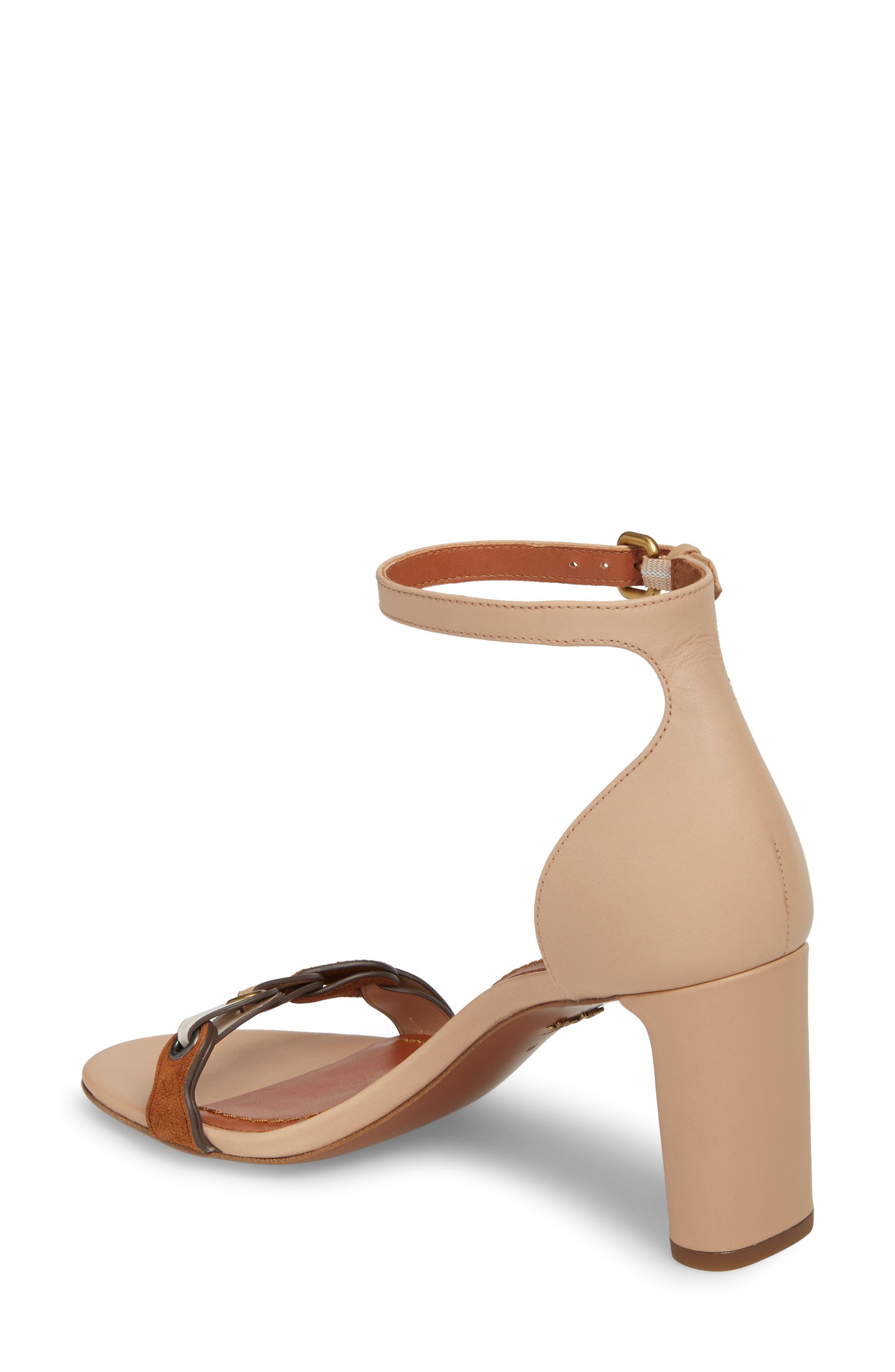 Link Ankle Strap Sandal,                             Alternate thumbnail 4, color,