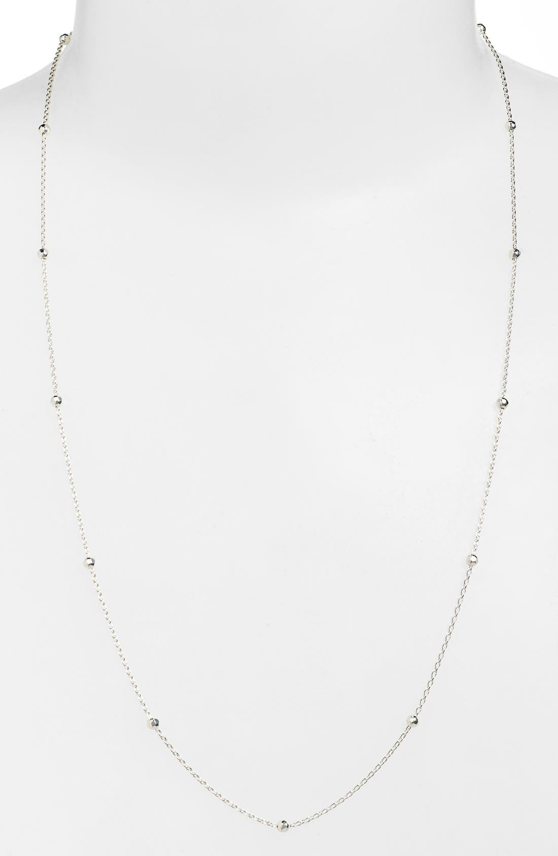 Long Station Necklace,                         Main,                         color, 040