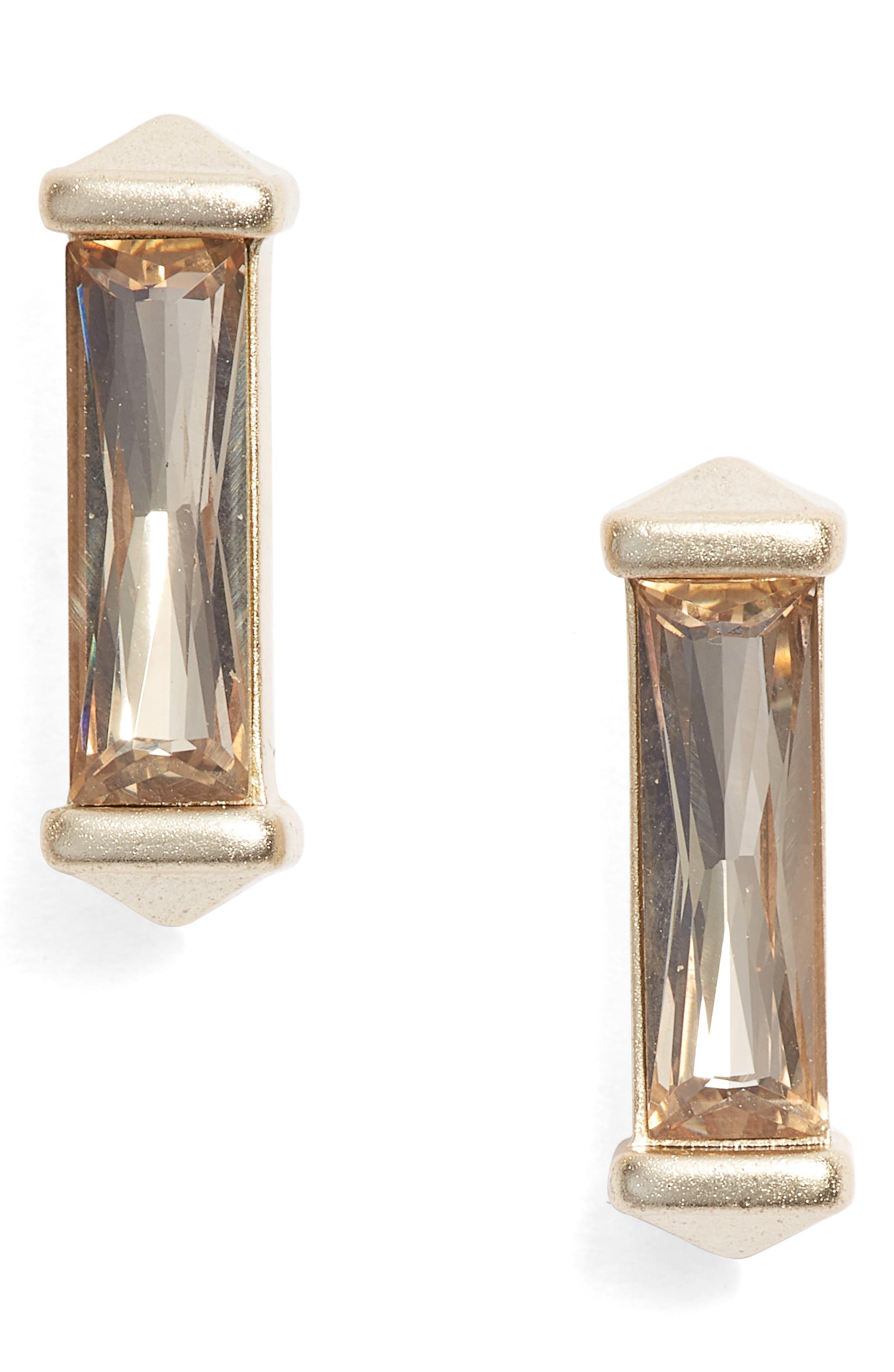 Fletcher Stud Earrings,                             Main thumbnail 1, color,                             020