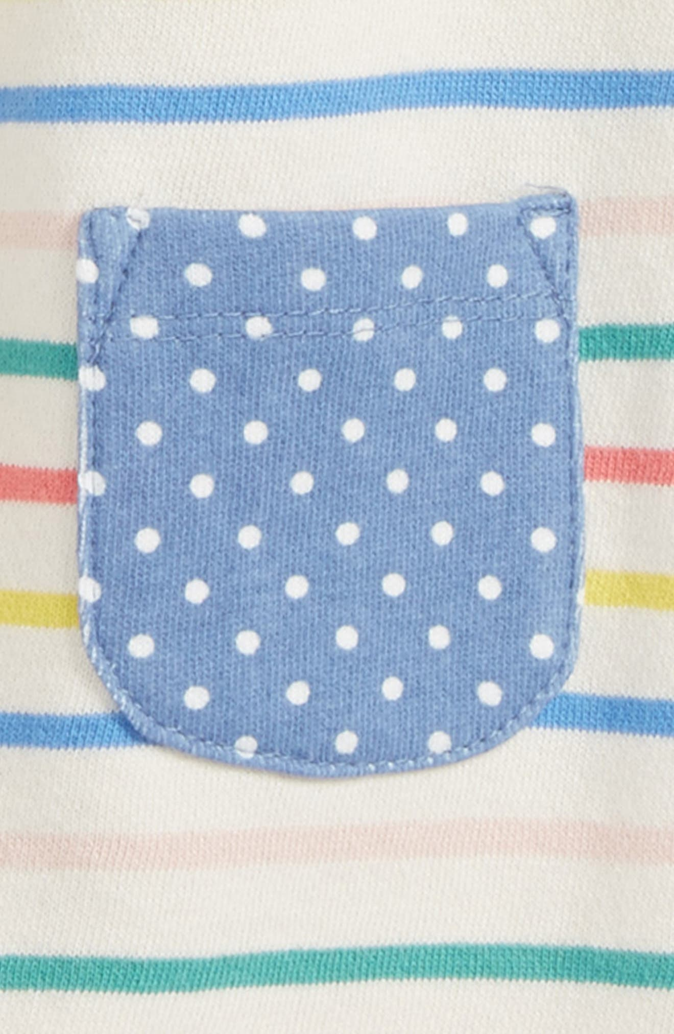 Fun Breton Stripe Dress,                             Alternate thumbnail 2, color,                             491