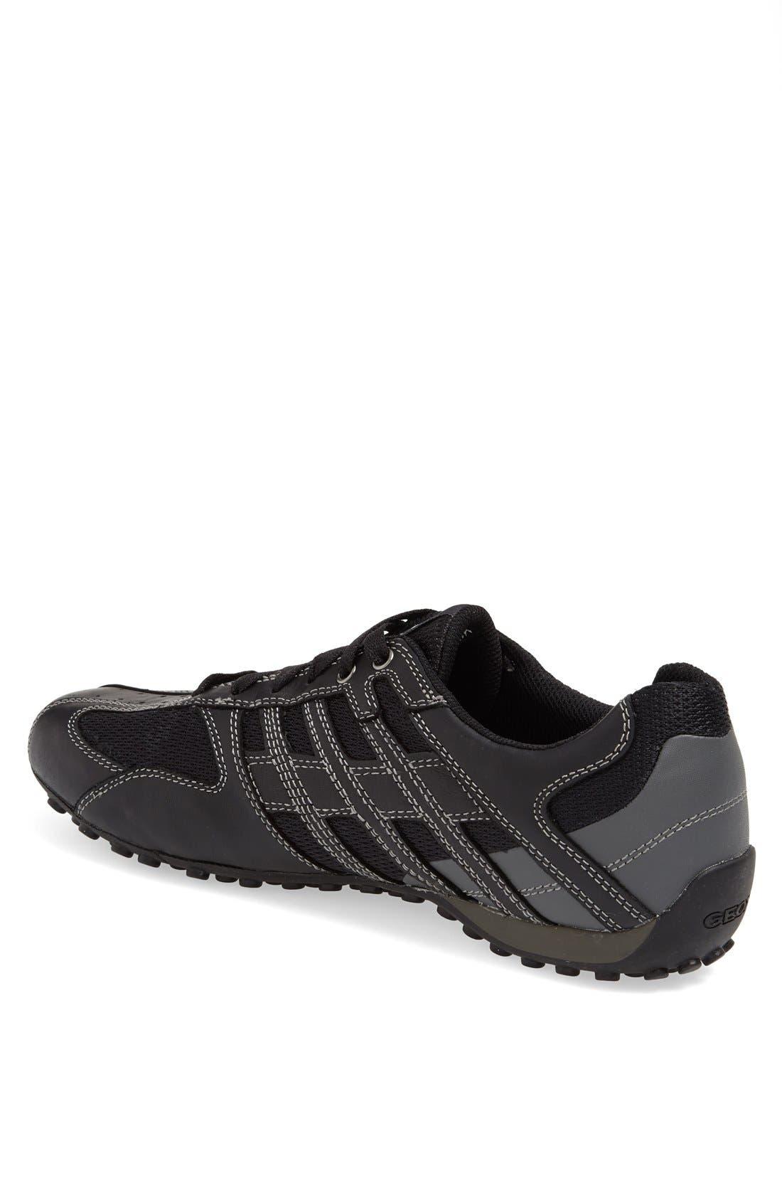 'Snake 95' Sneaker,                             Alternate thumbnail 2, color,                             BLACK/ LEAD
