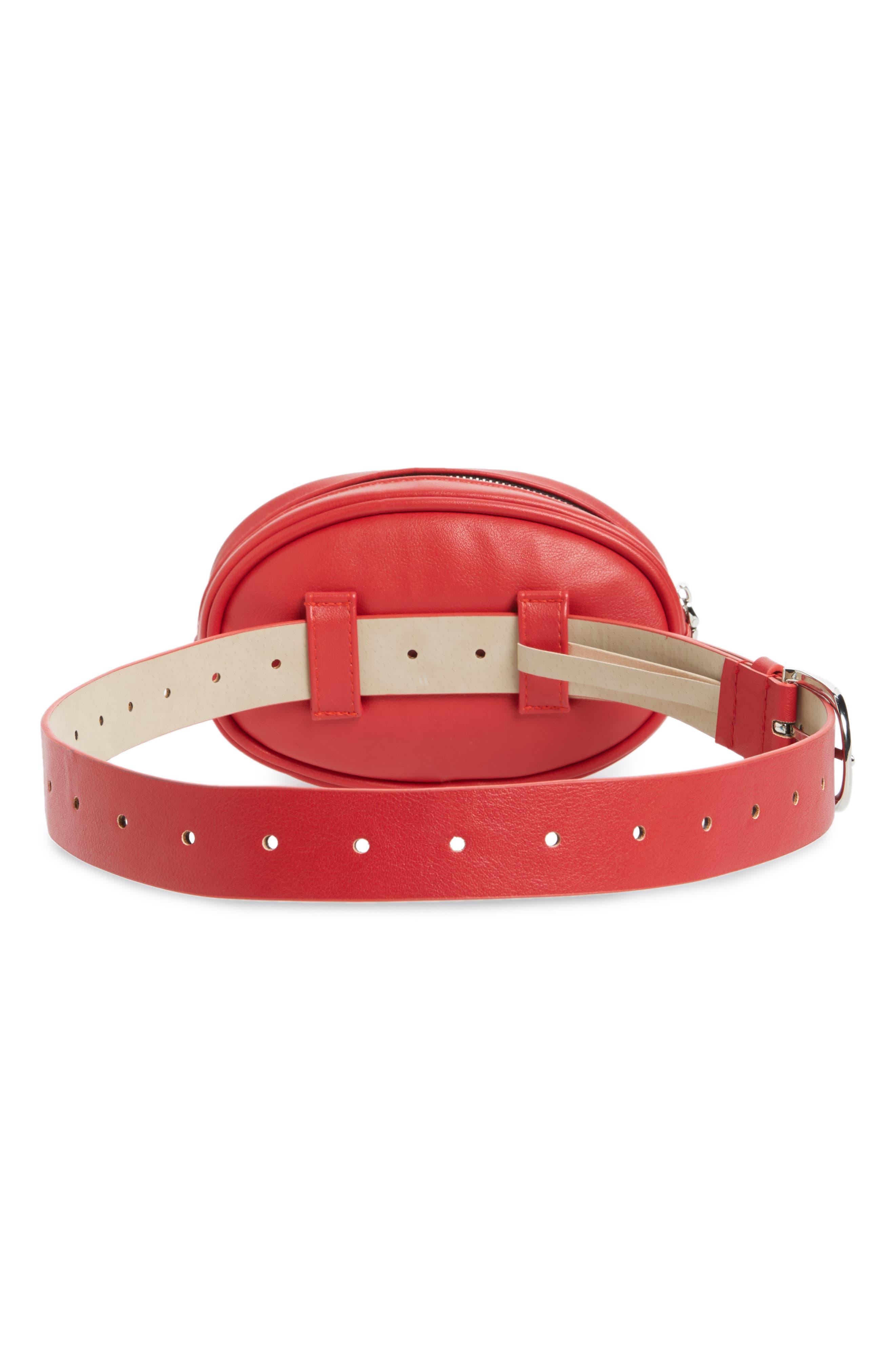 Quilted Belt Bag,                             Alternate thumbnail 8, color,