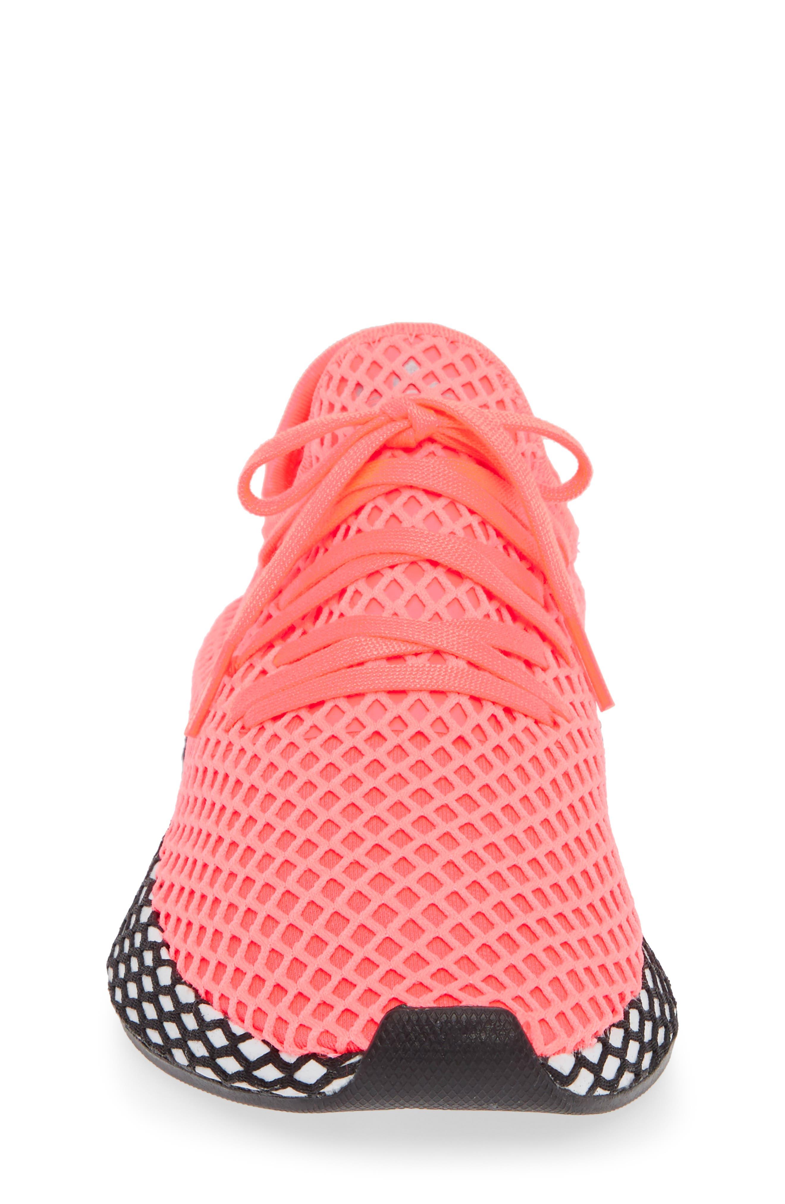 Deerupt Runner Sneaker,                             Alternate thumbnail 4, color,                             TURBO/ TURBO/ BLACK