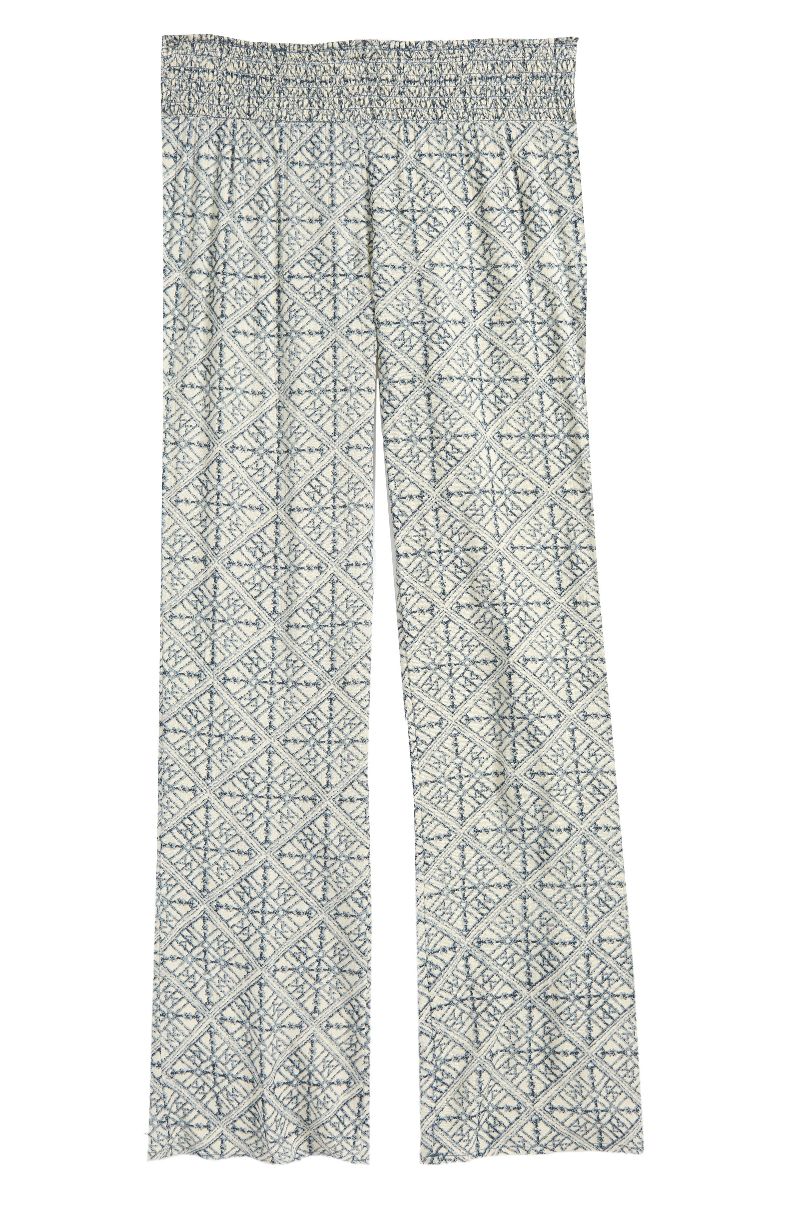 Joanna Geo Print Pants,                         Main,                         color, 423