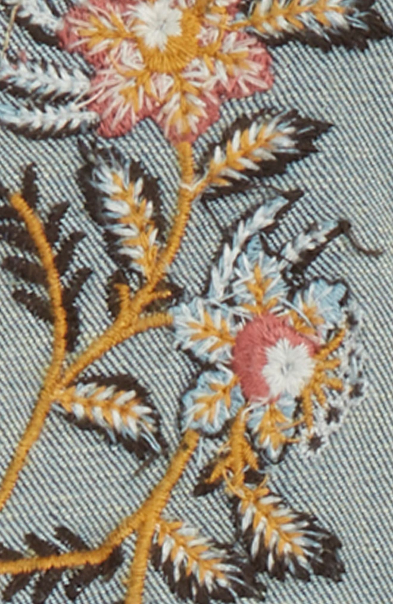 Taylor Embroidered Overalls,                             Alternate thumbnail 3, color,                             463