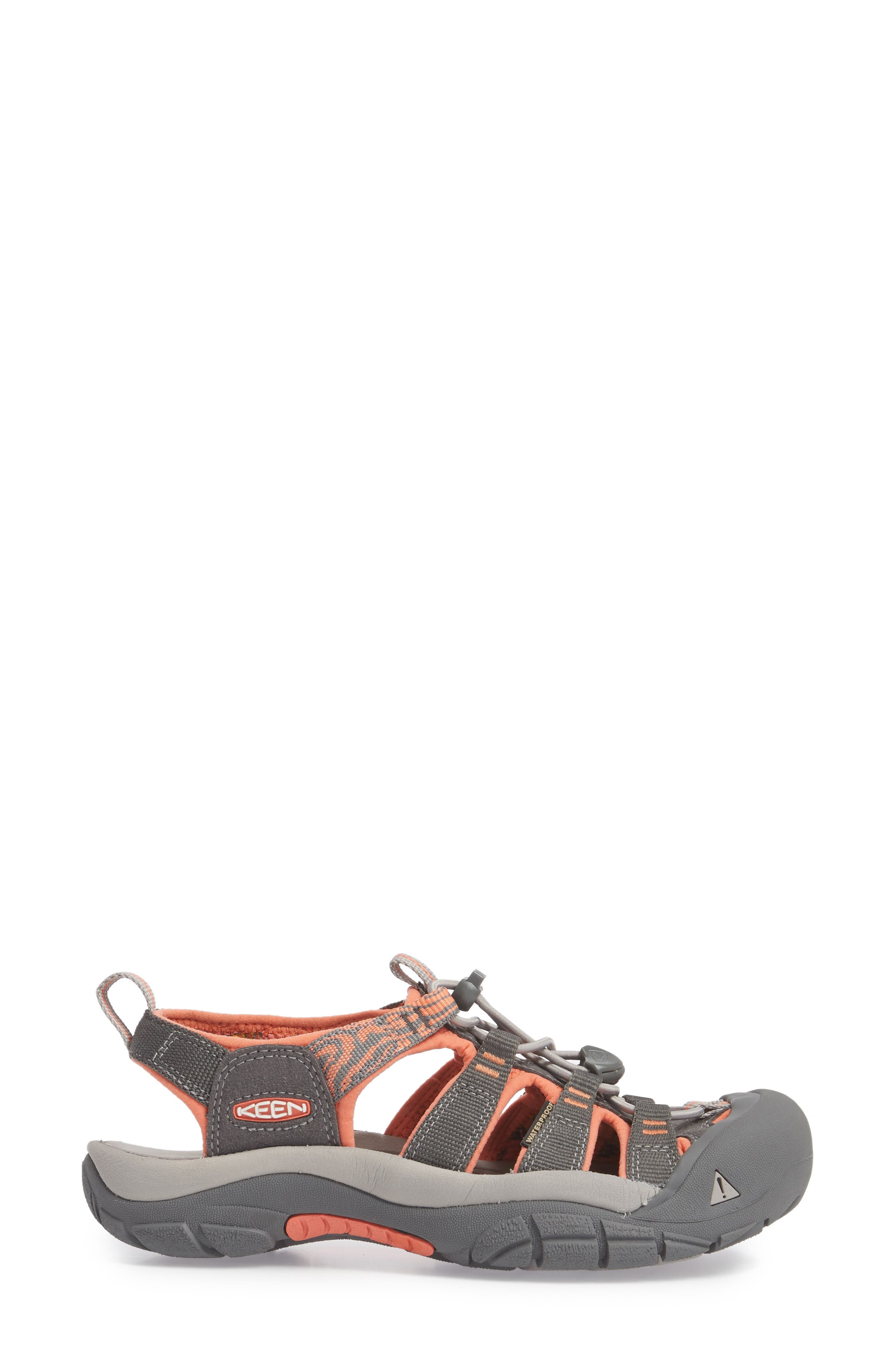 Newport Hydro Sandal,                             Alternate thumbnail 3, color,                             MAGNET/ CORAL