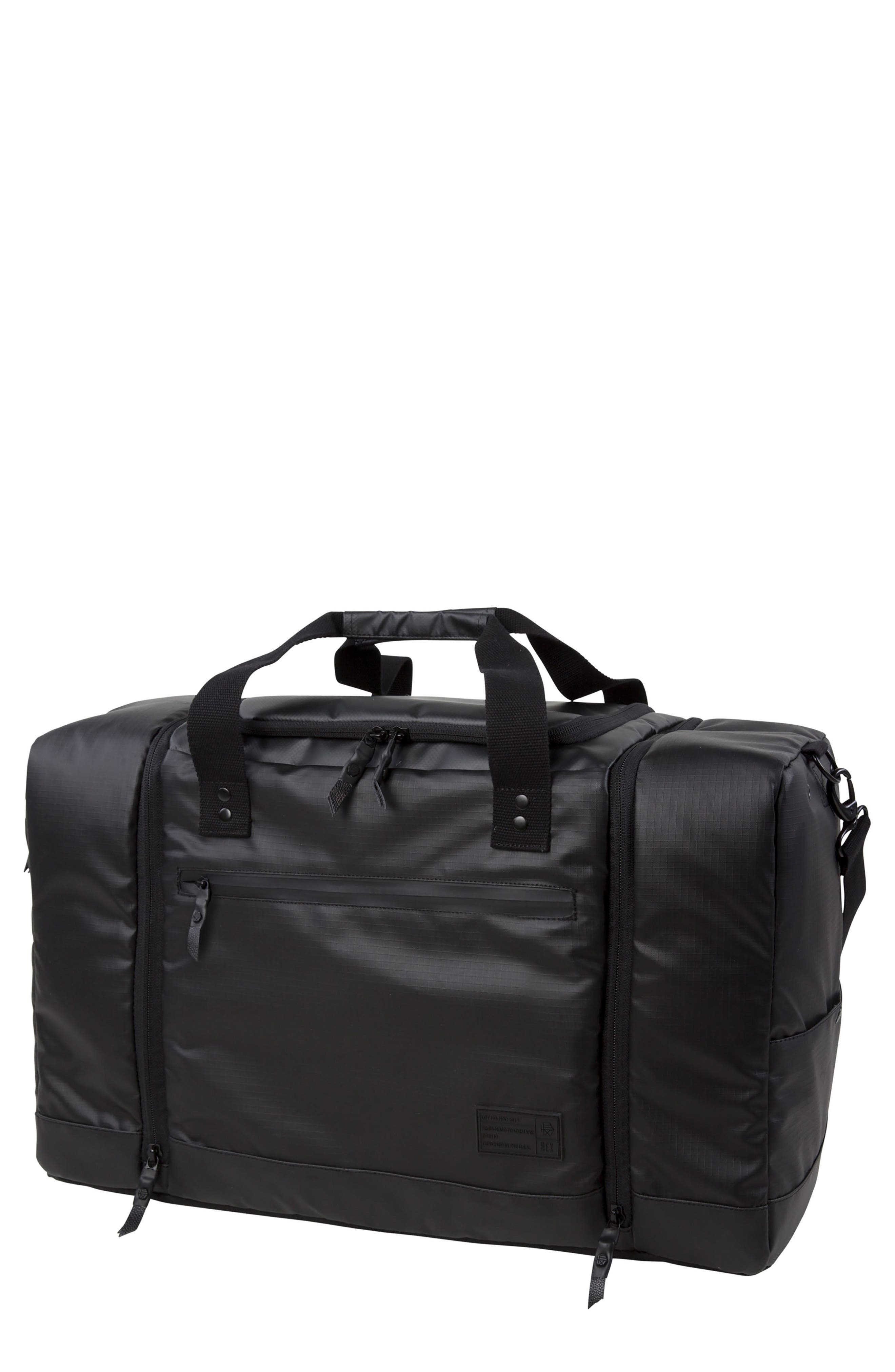 'Calibre' Sneaker Duffel Bag,                             Main thumbnail 1, color,                             003