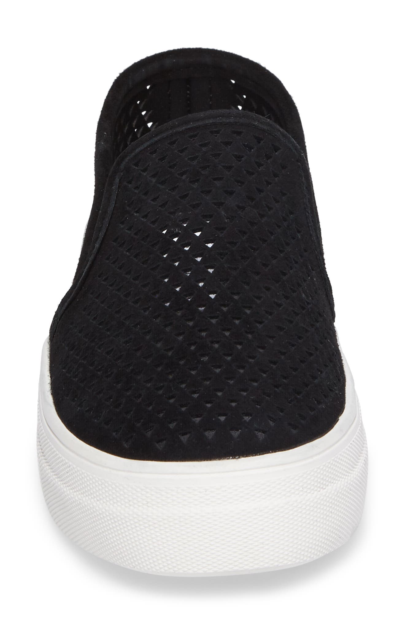 Gills Perforated Slip-On Sneaker,                             Alternate thumbnail 4, color,                             006