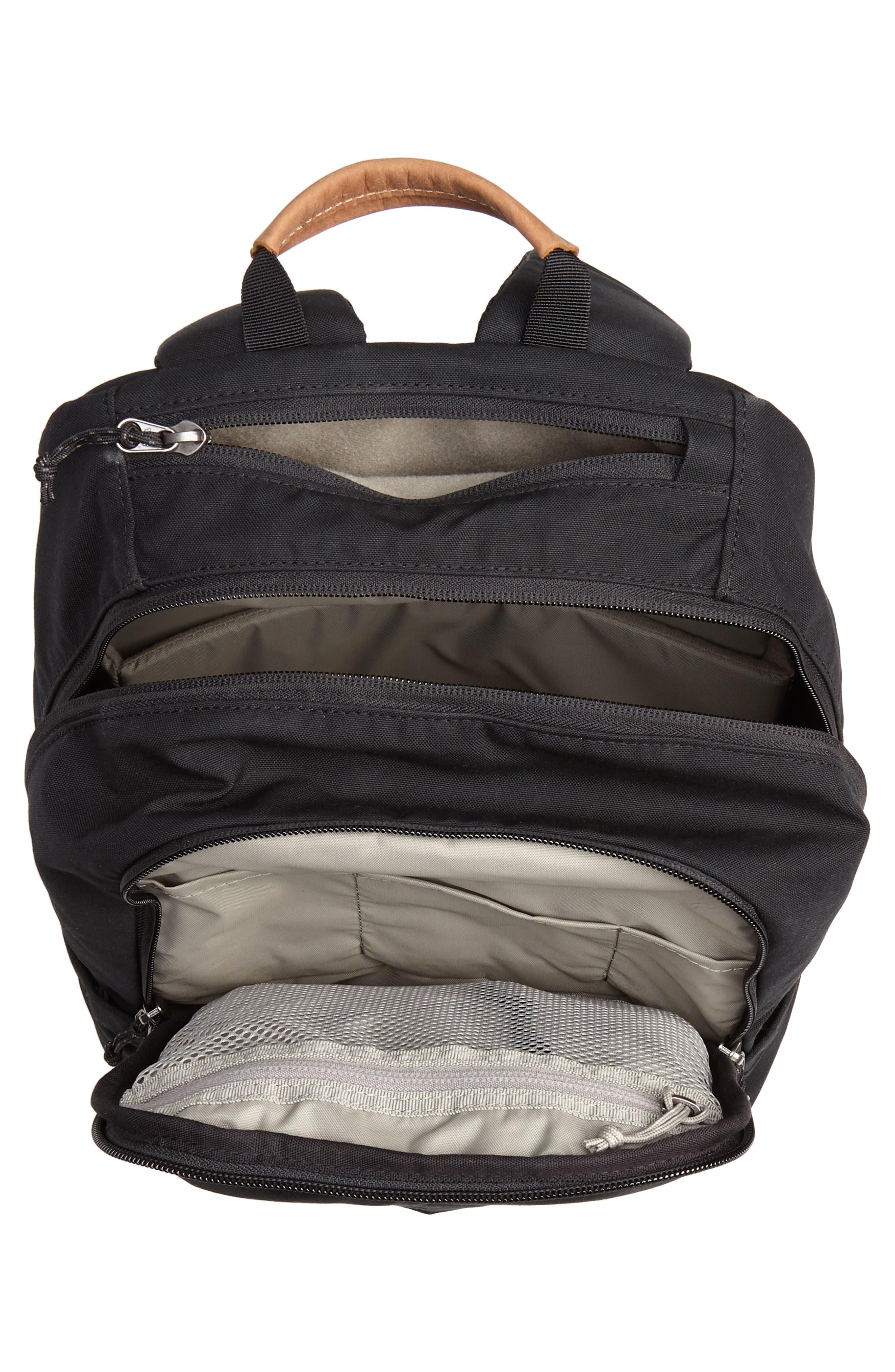 Räven 20L Backpack,                             Alternate thumbnail 4, color,                             BLACK