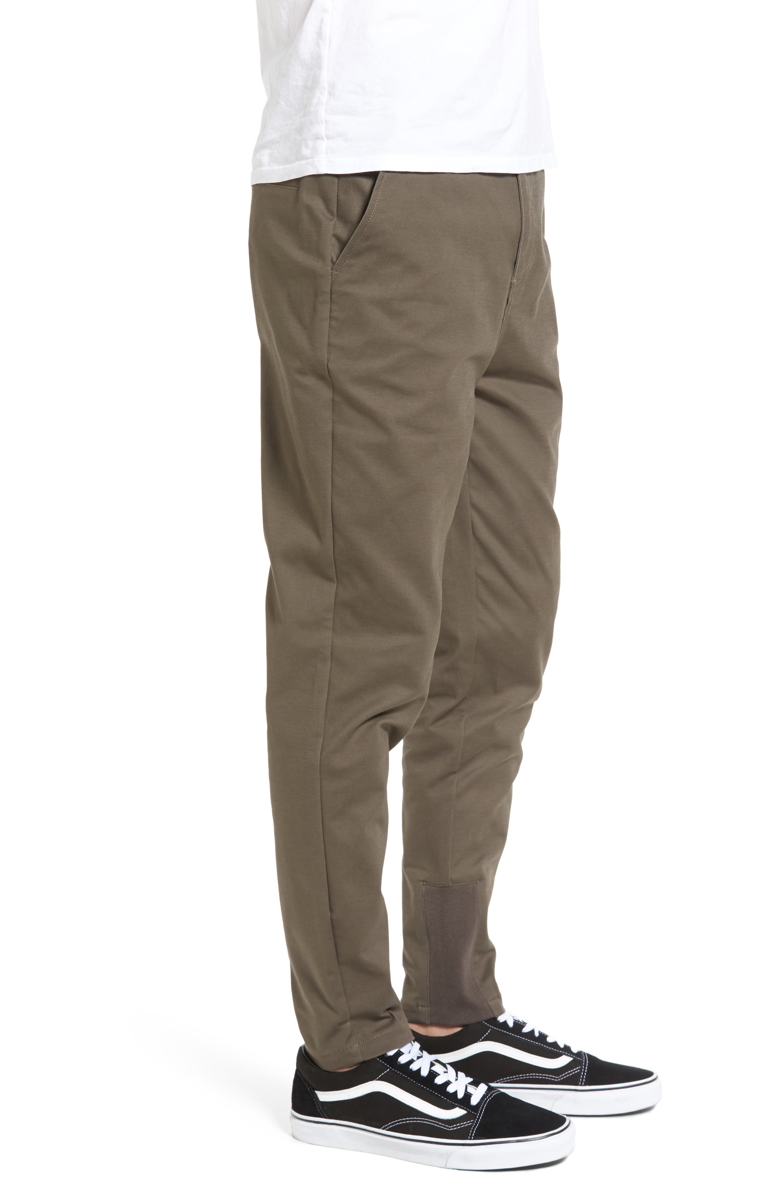 'Sharpshot' Slouchy Skinny Fit Chinos,                             Alternate thumbnail 15, color,