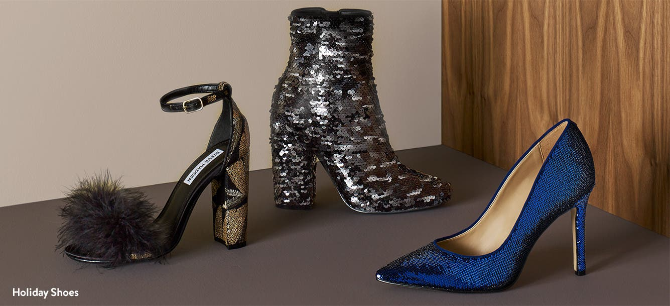 Shop holiday shoes.